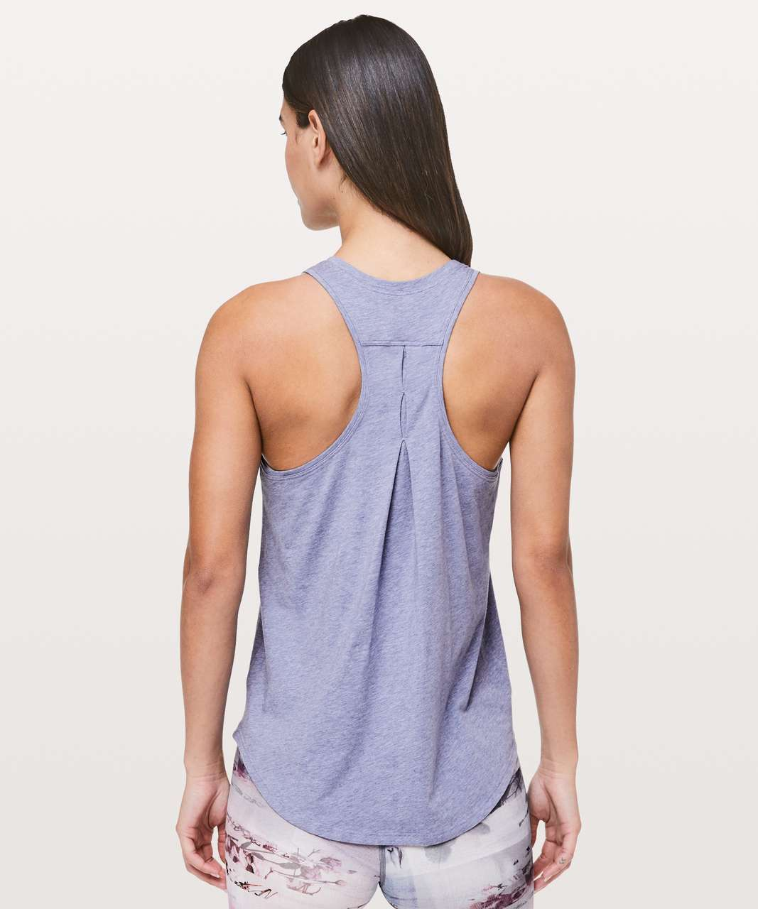 Lululemon Love Tank *Pleated - Heathered Solar Purple