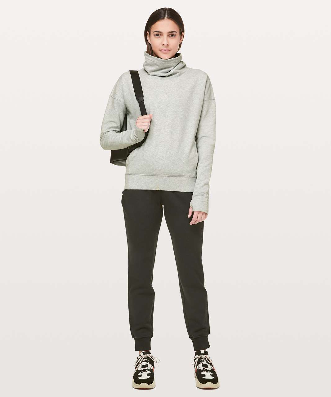 Lululemon Go Forward Pullover - Heathered Core Ultra Light Grey