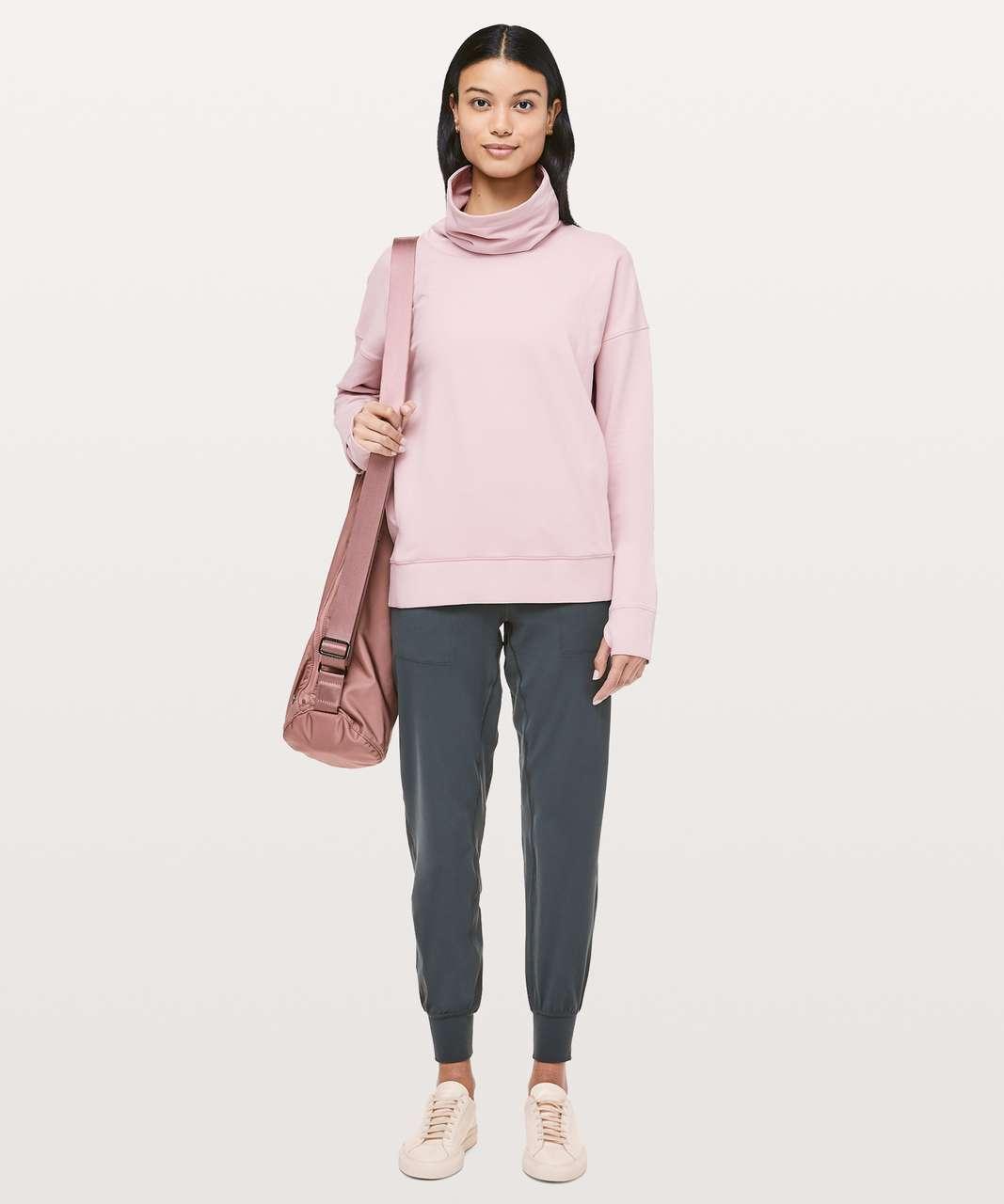 Lululemon Go Forward Pullover - Porcelain Pink