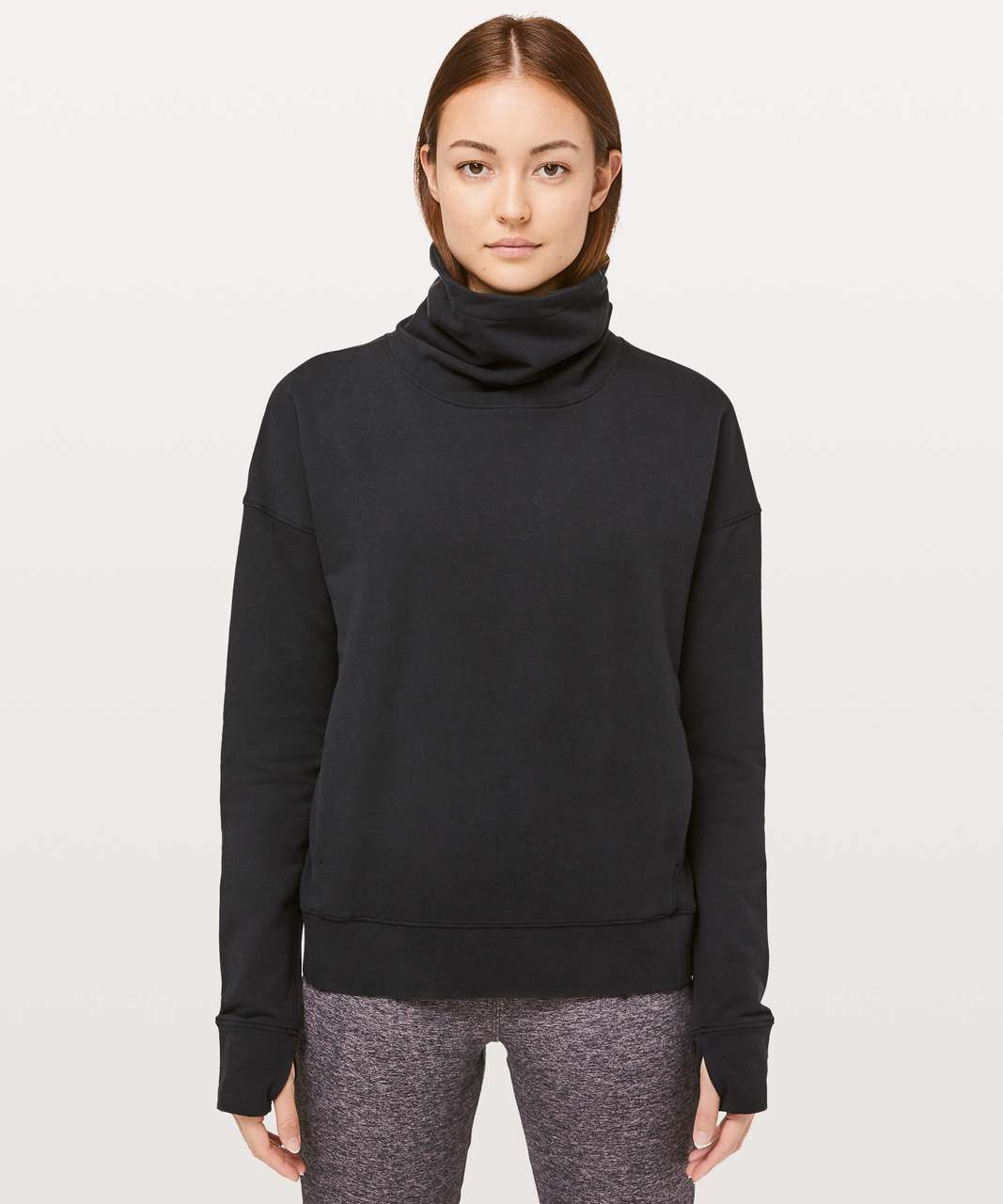 Lululemon Go Forward Pullover - Black