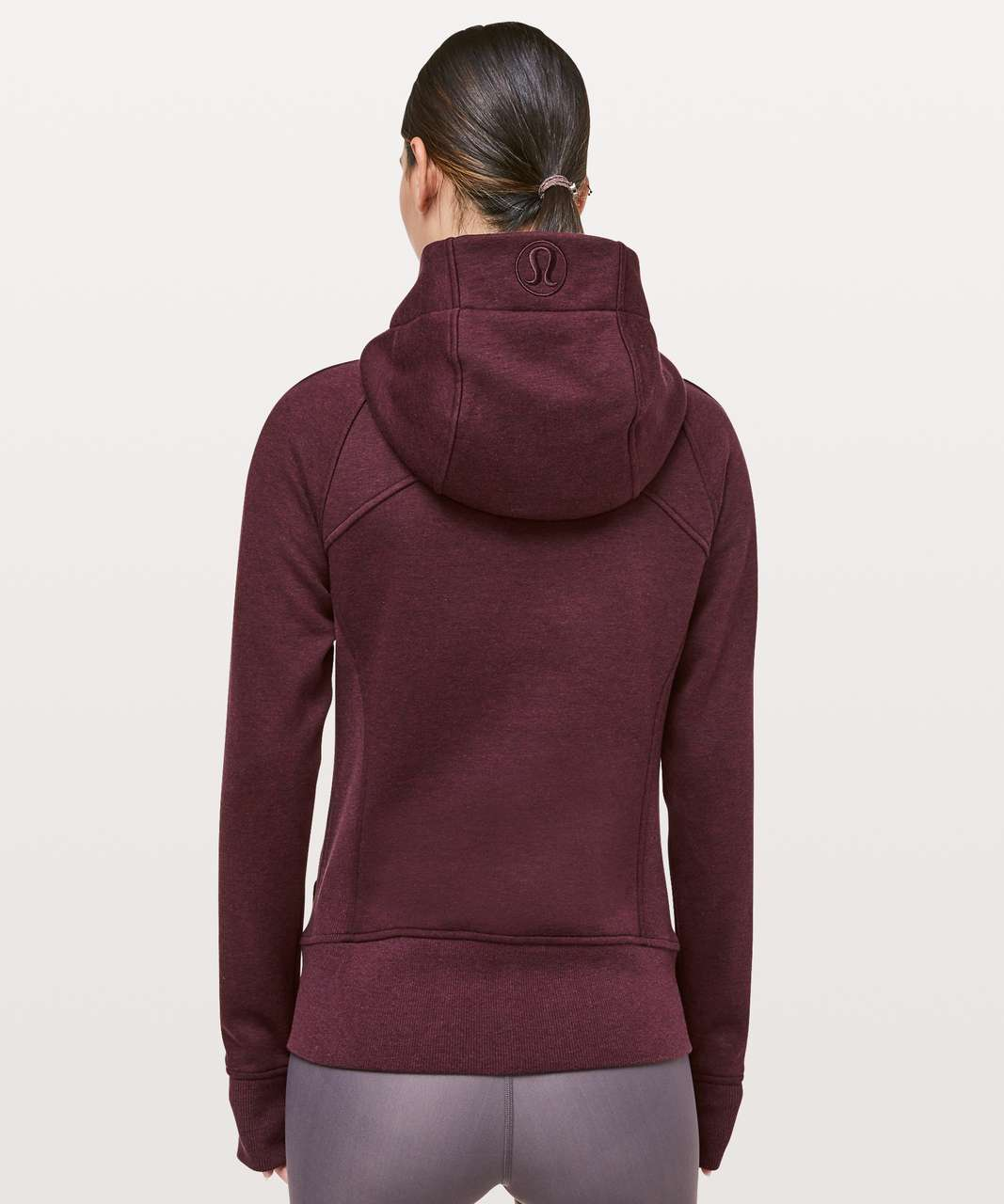 Lululemon Light As Warmth Scuba Hoodie - Heathered Dark Adobe