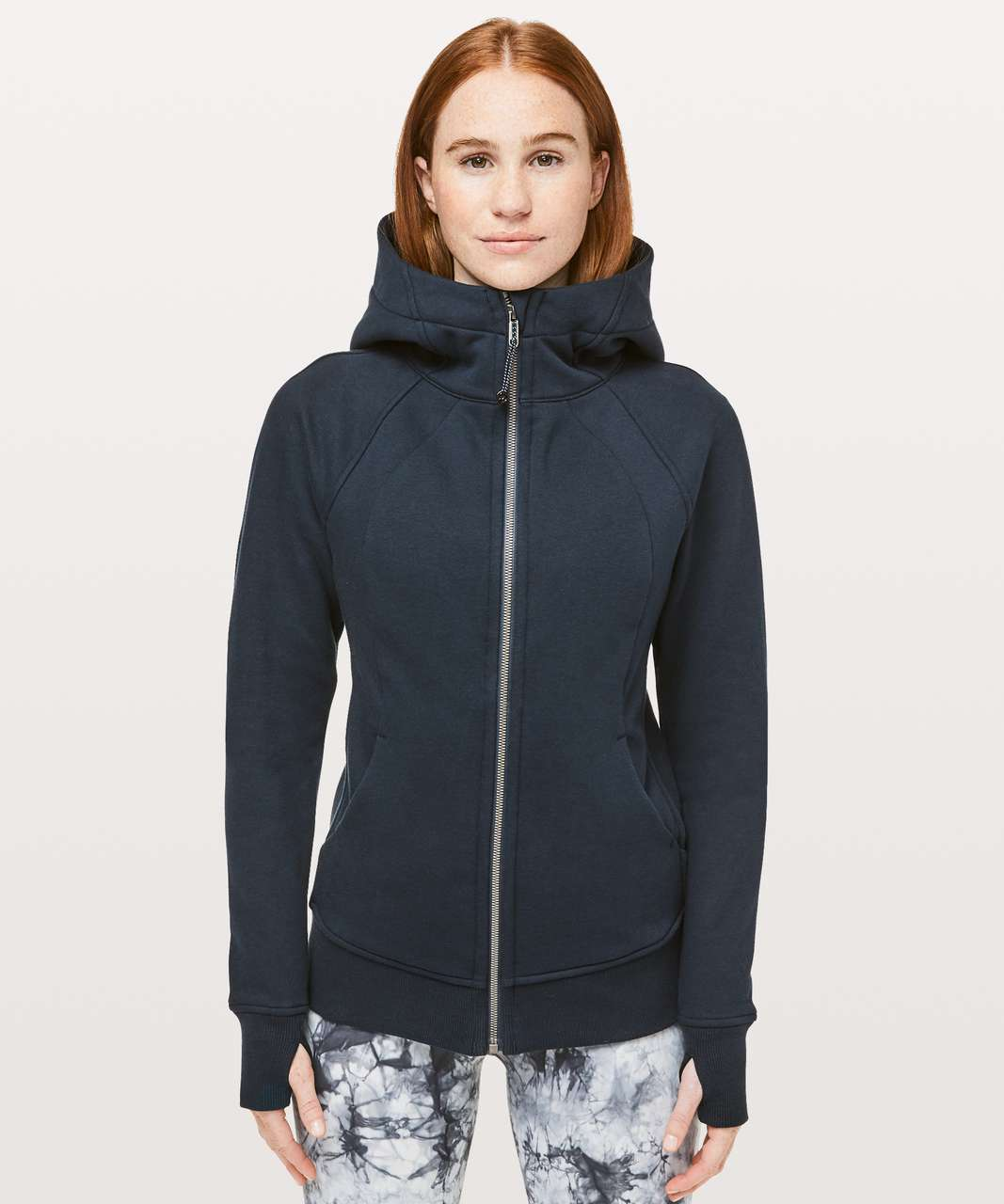 Lululemon Light As Warmth Scuba Hoodie - Nocturnal Teal
