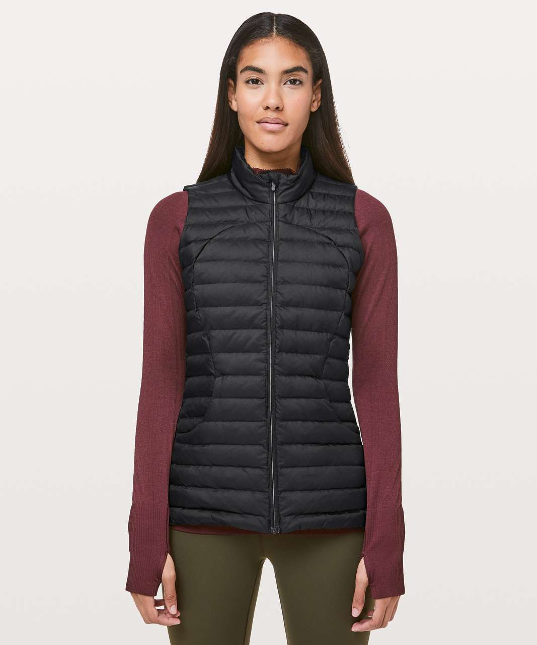 Lululemon Pack It Down Again Vest - Black