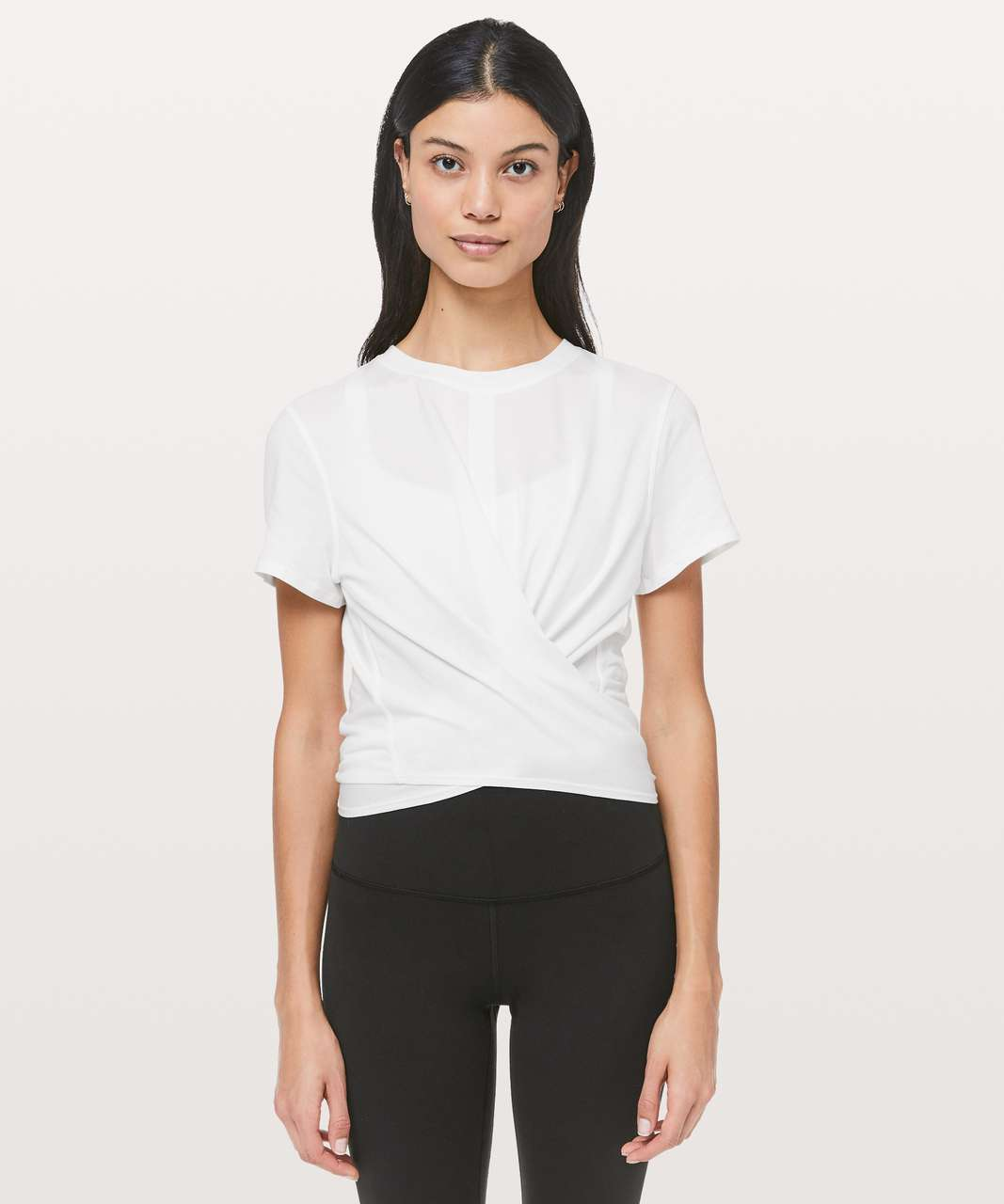 Lululemon Time To Restore Short Sleeve - White