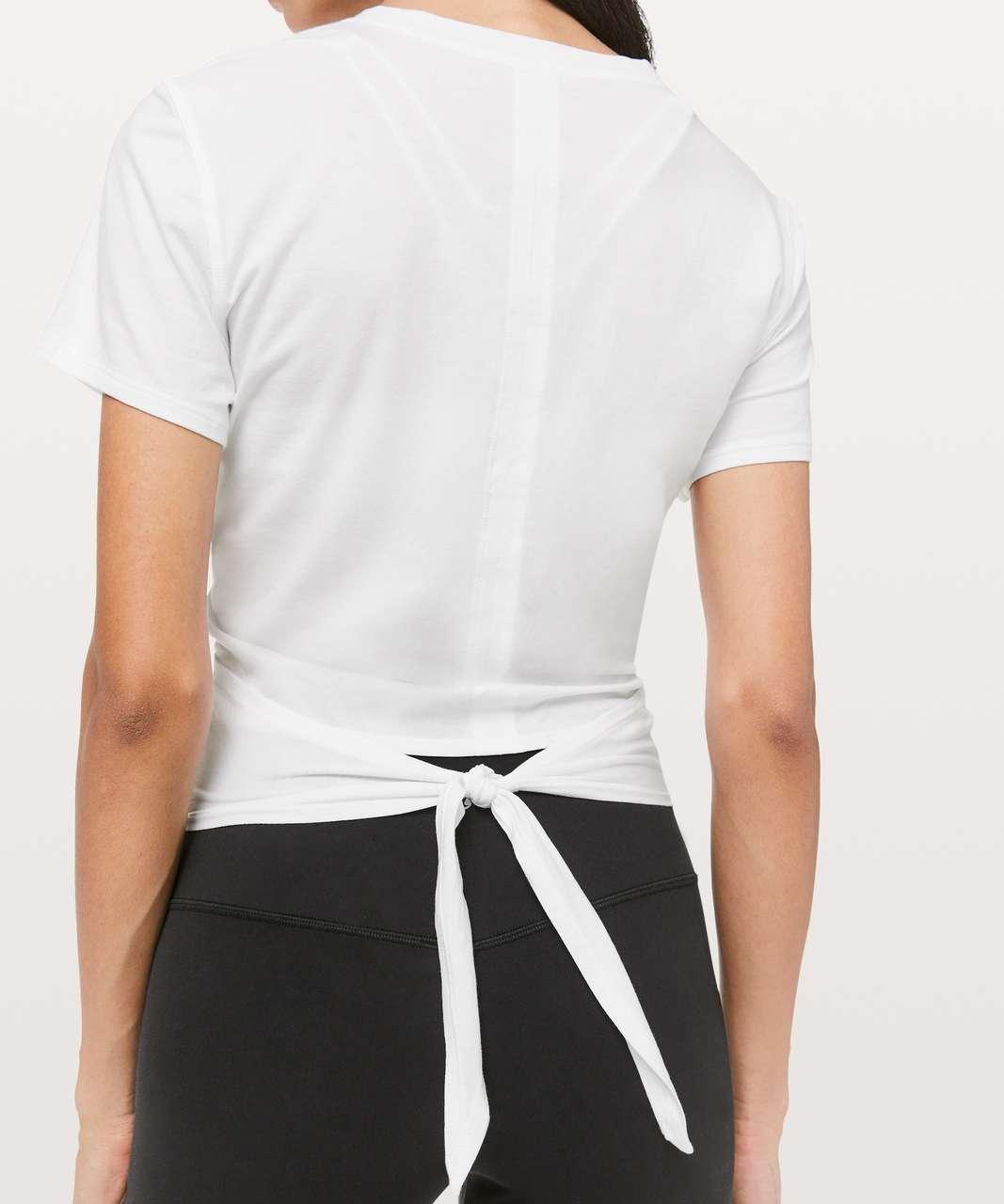 Lululemon Time To Restore Short Sleeve - White