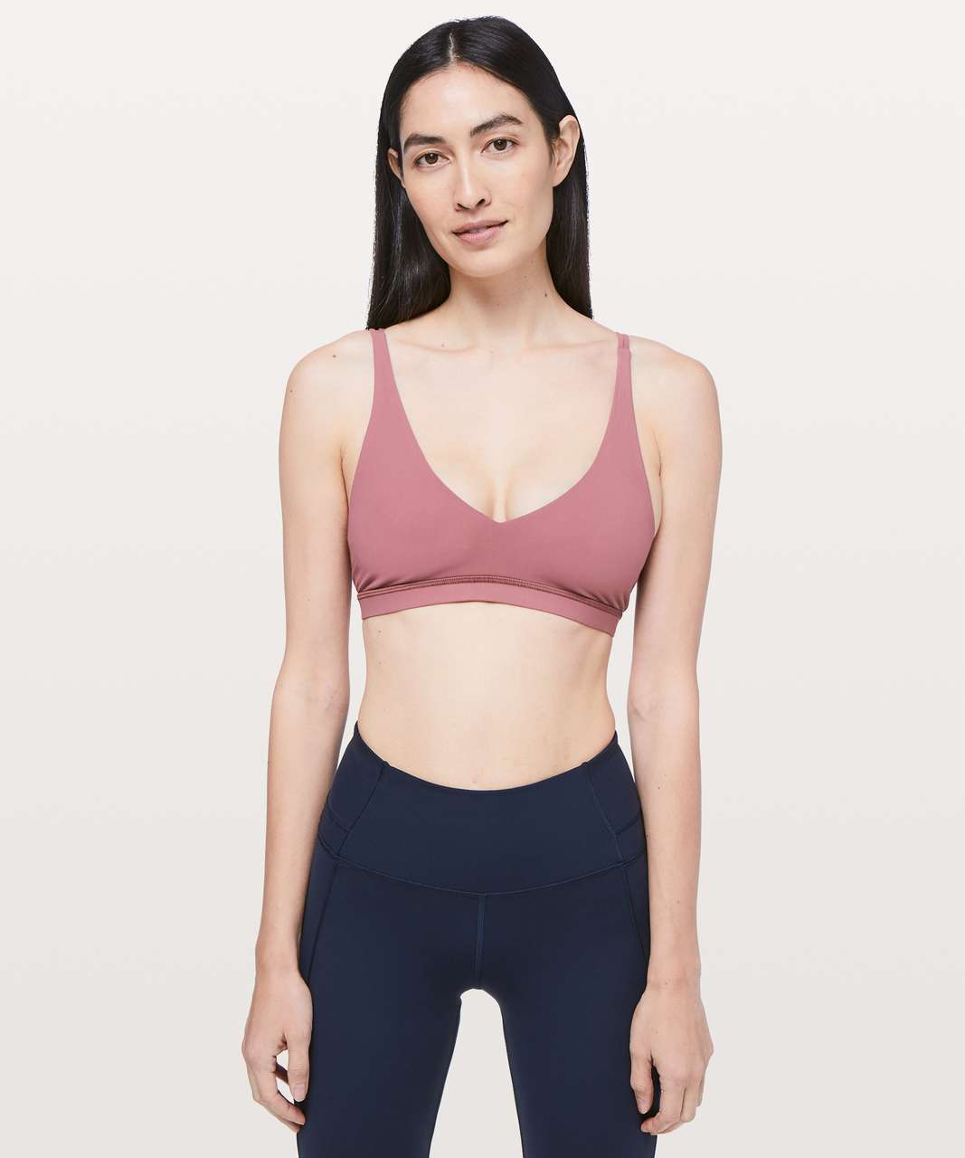 Lululemon Freely Flexed Bra - Misty Merlot