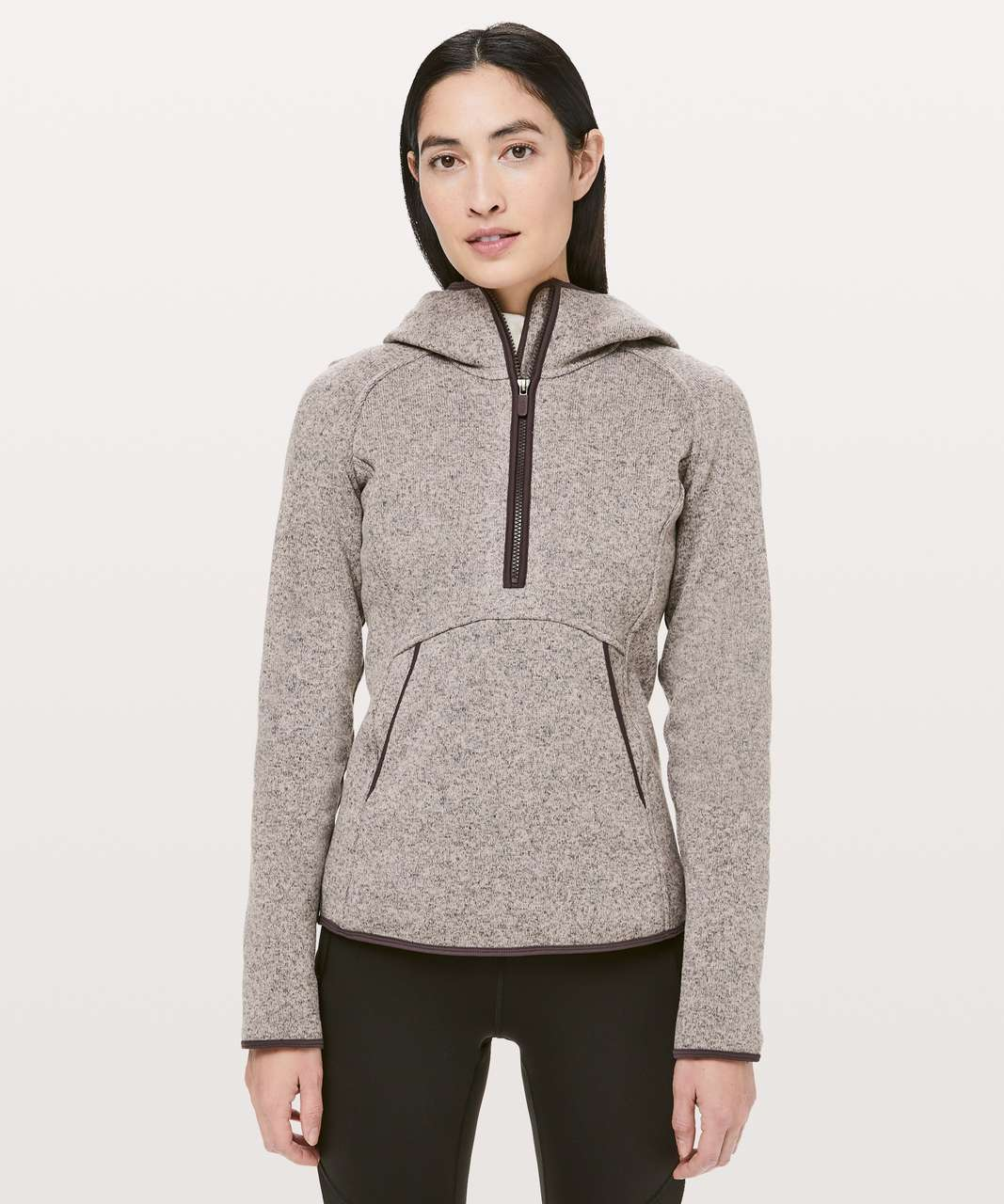 Lululemon Fleece & Thank You Pullover - Heathered Smoky Blush