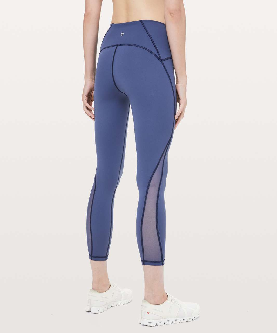 "Lululemon Train Times 7/8 Pant *25"" - Gatsby Blue"