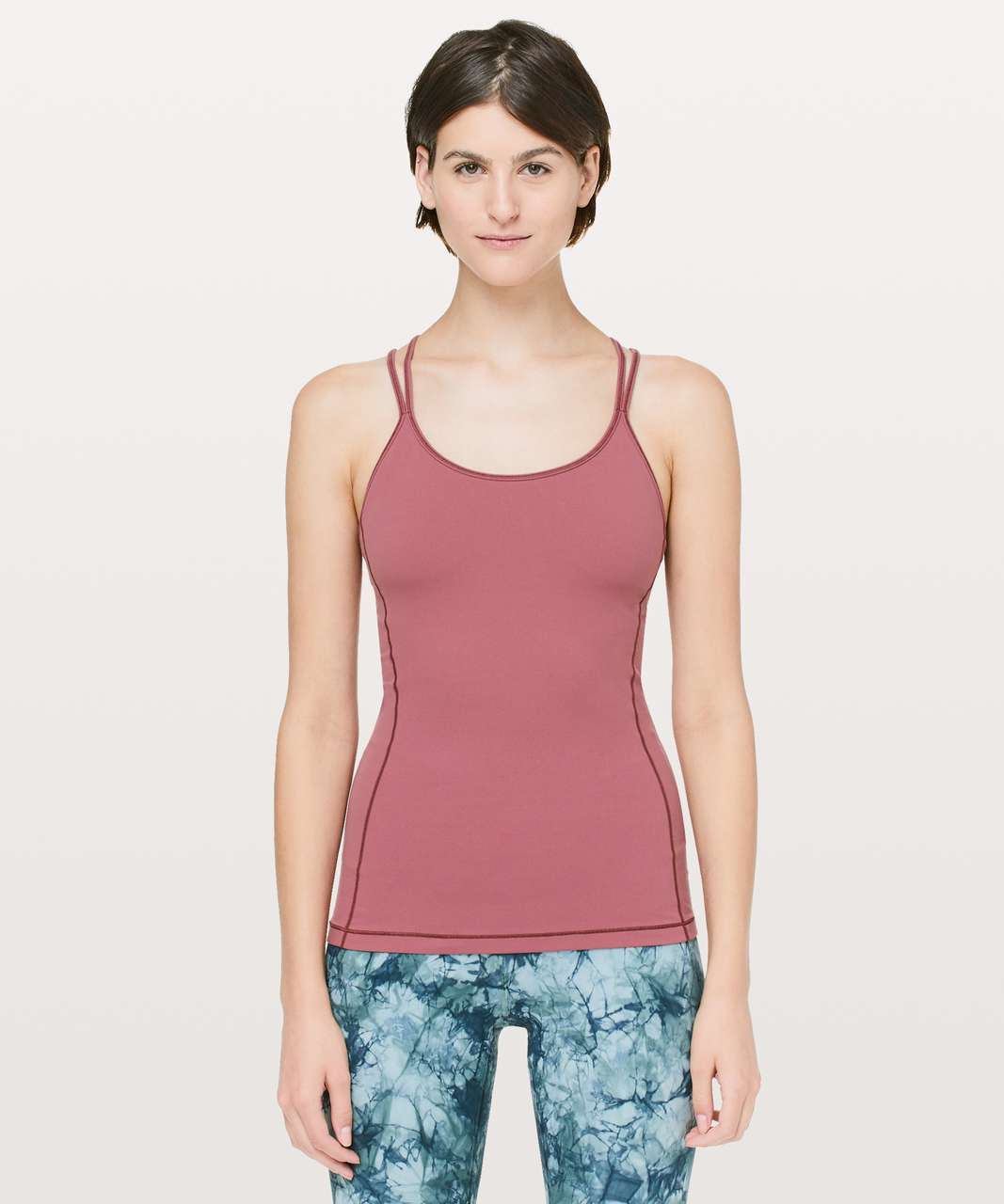 Lululemon Free To Be Tank *Nulu - Misty Merlot