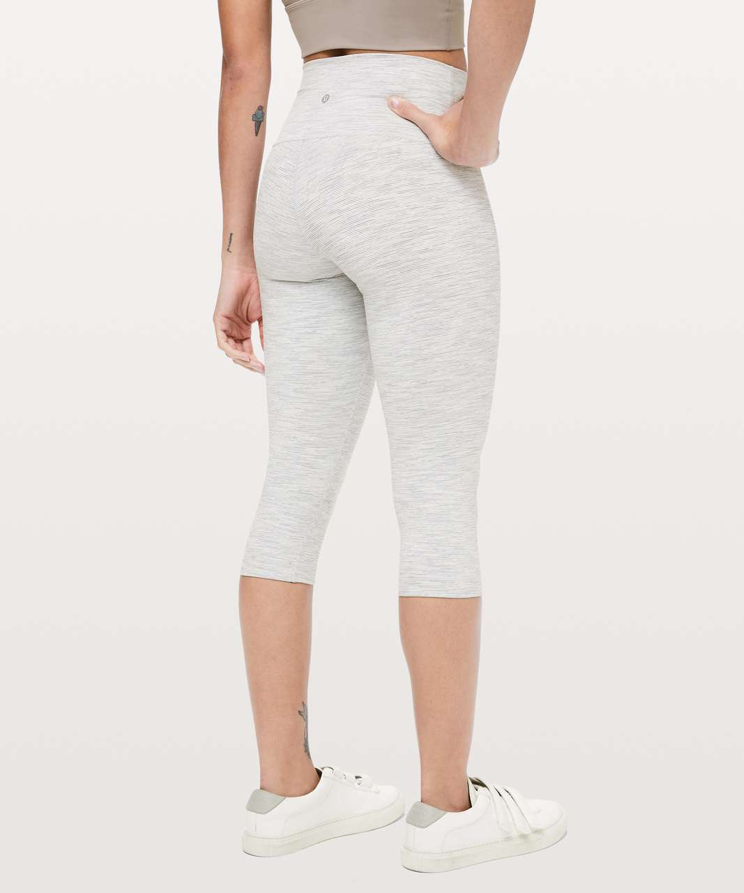 "Lululemon Wunder Under High-Rise 1/2 Tight *Luxtreme 17"" - Wee Are From Space Nimbus Battleship"