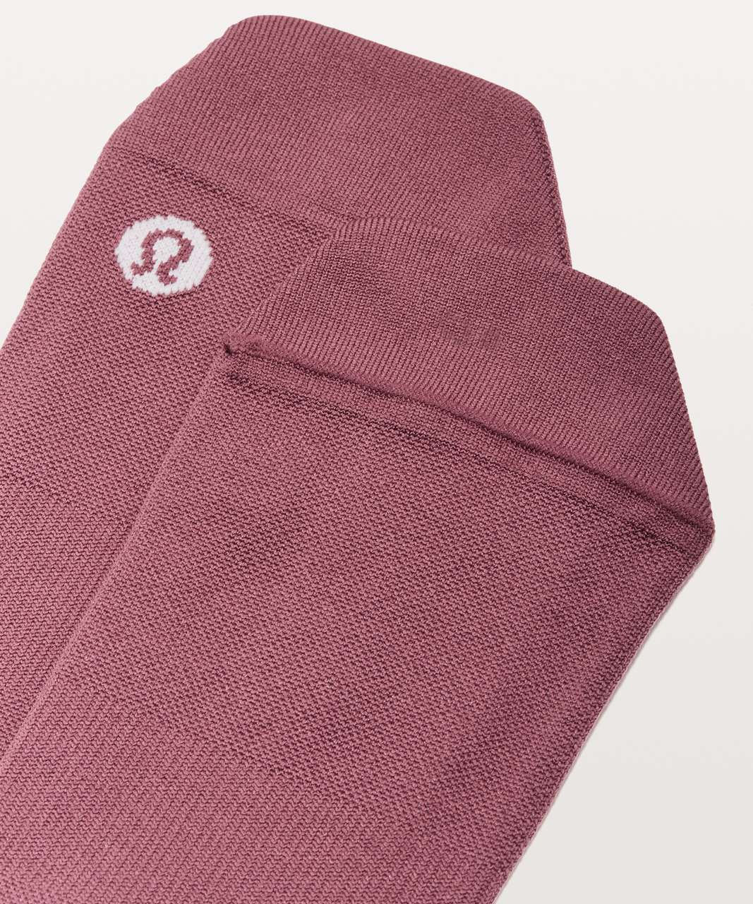 Lululemon Light Speed Sock *Silver - Misty Merlot