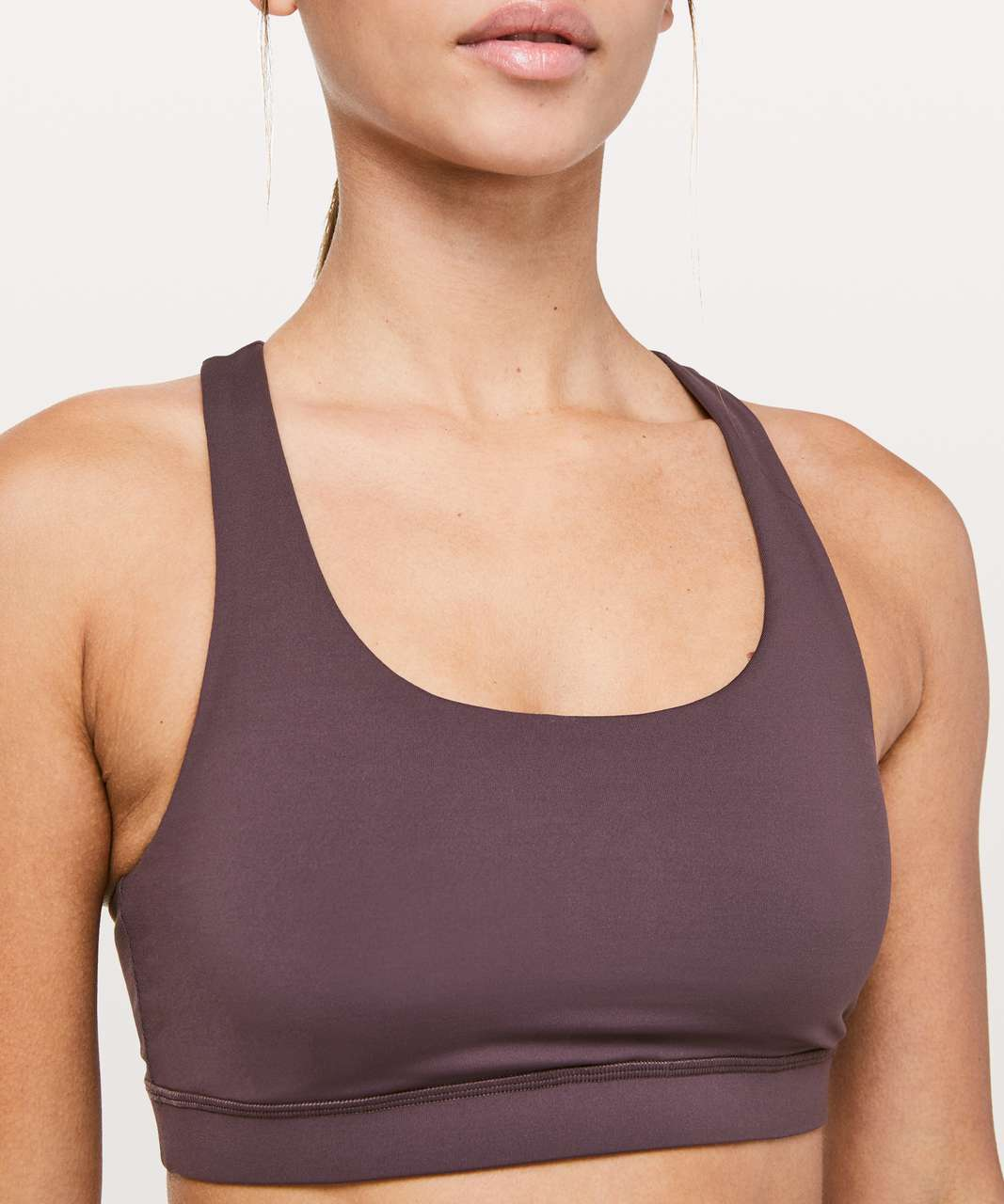 Lululemon Invigorate Bra - Vintage Grape
