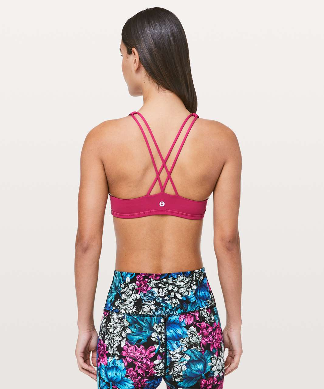 Lululemon Free To Be Bra *High Neck - Violet Red