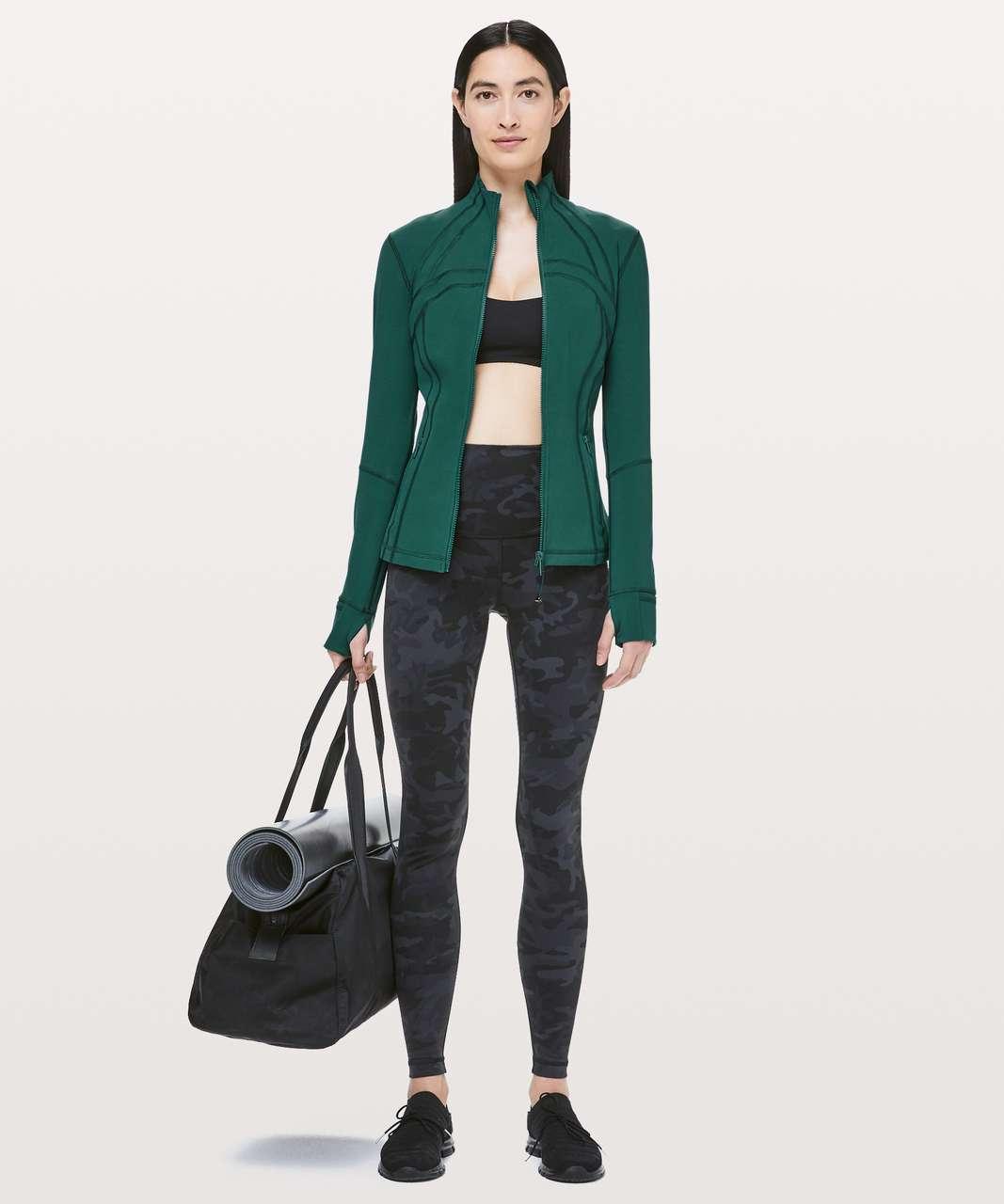 Lululemon Define Jacket *Luxtreme - Royal Emerald / Green Jasper
