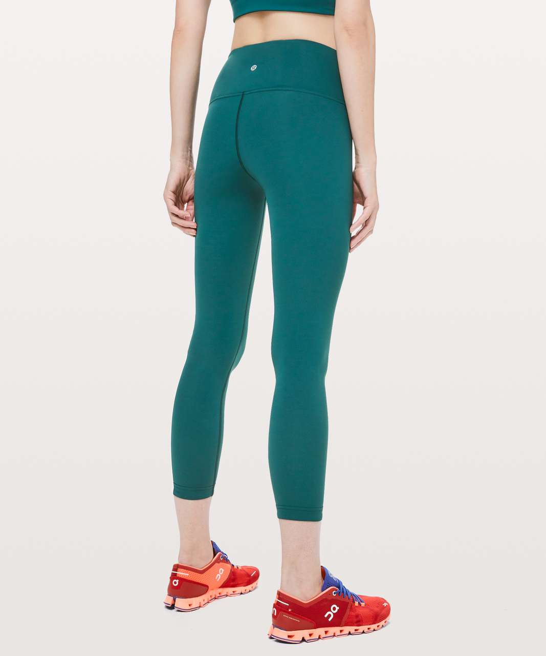 "Lululemon Take A Hint 7/8 Tight *25"" - Royal Emerald"