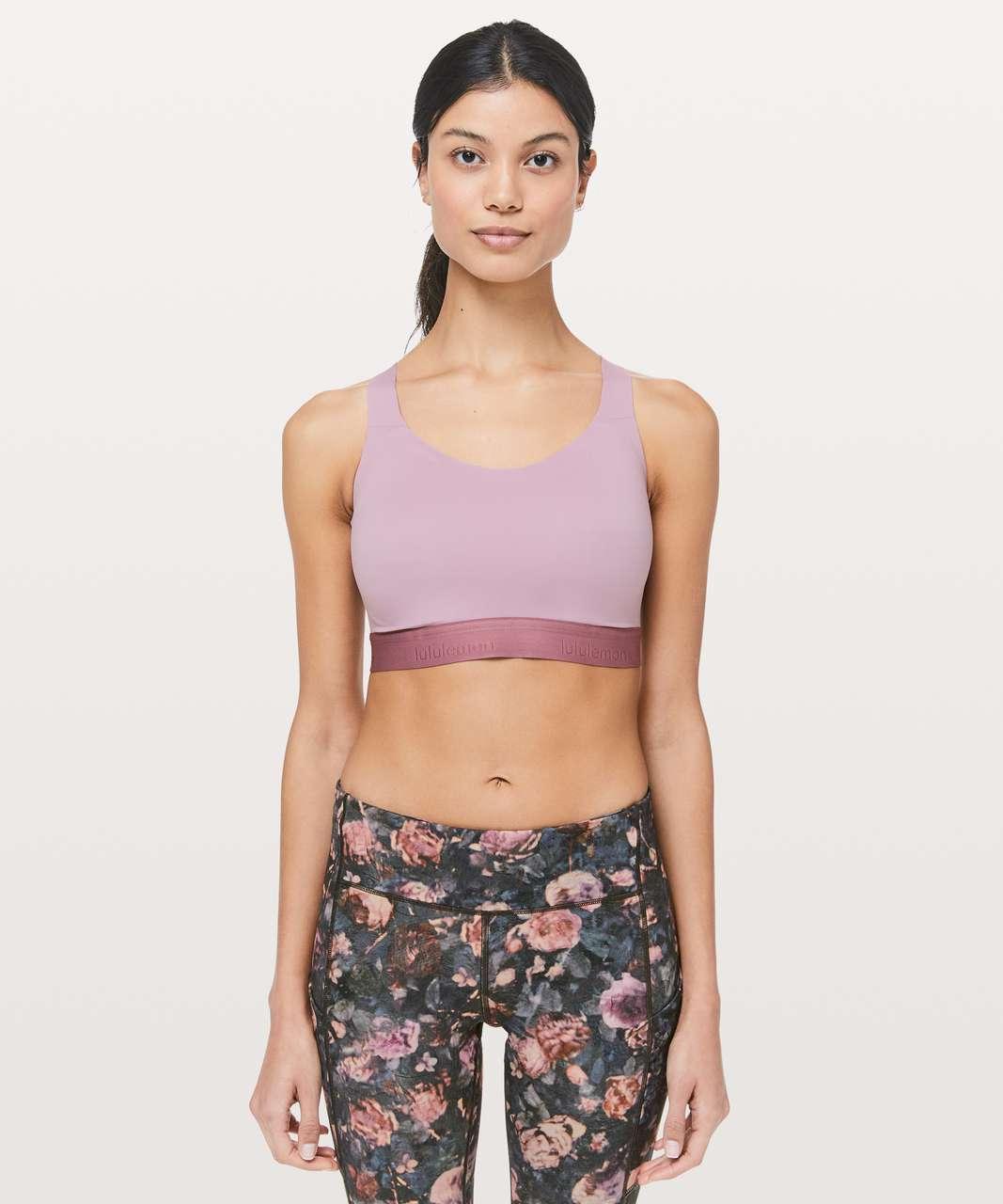 Lululemon Fine Form Bra - Rose Blush