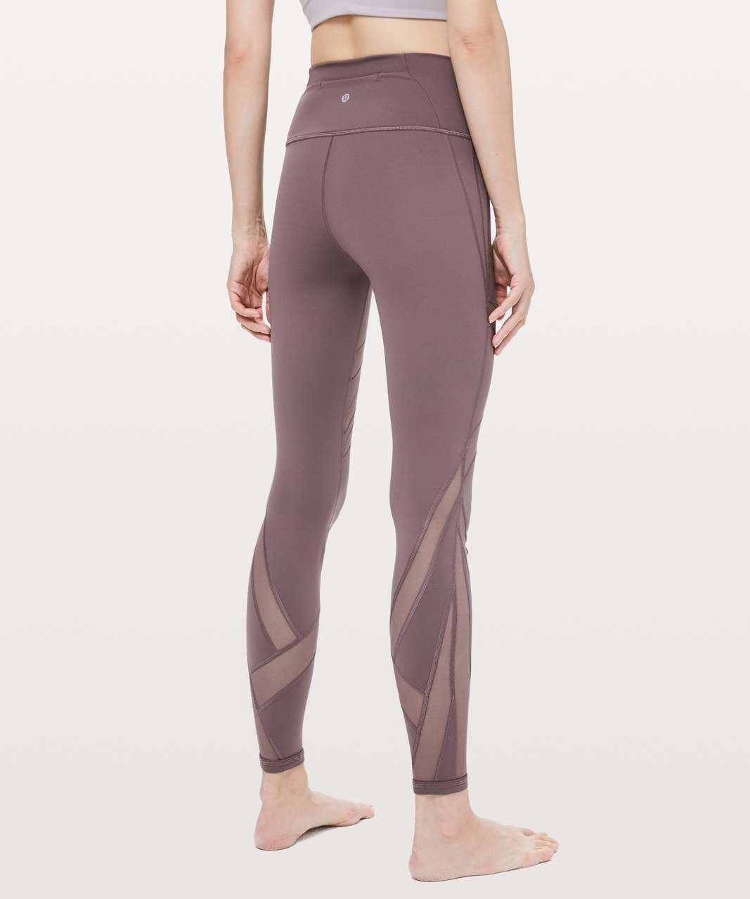 "Lululemon Wunder Under High-Rise Tight *Mesh 28"" - Antique Bark"