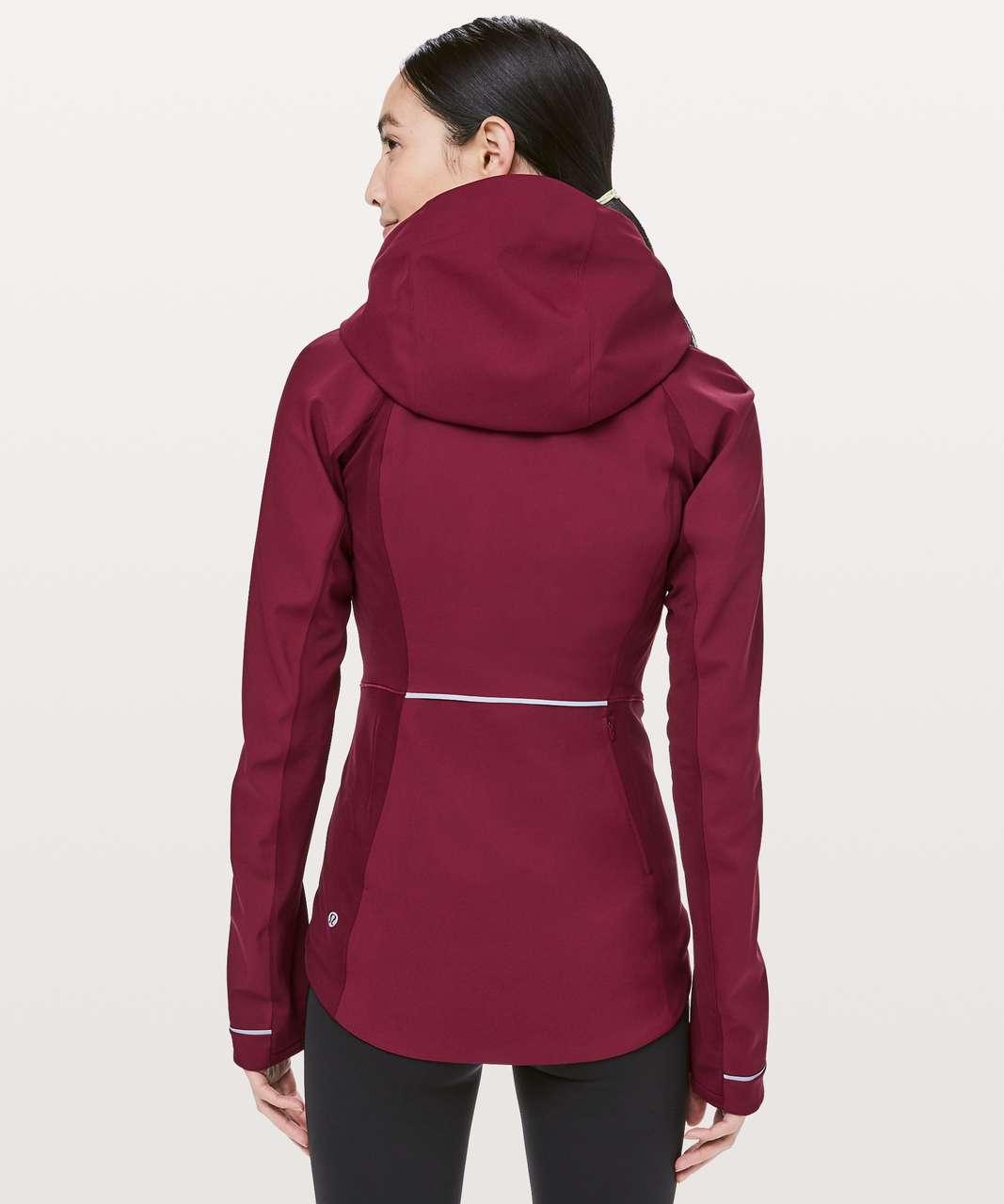 Lululemon Cross Chill Jacket - Deep Ruby