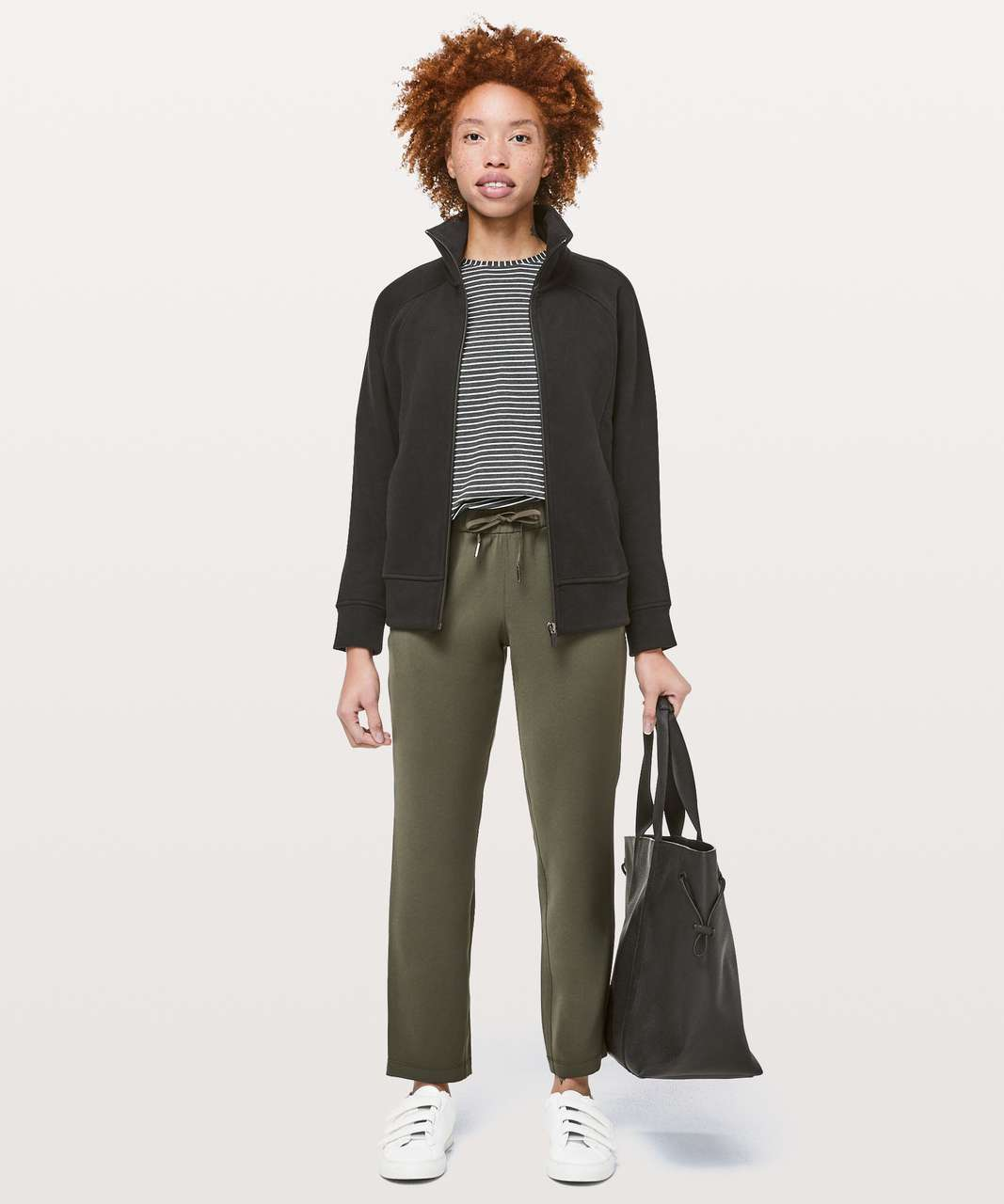 "Lululemon On The Fly Pant *Woven 28"" - Dark Olive"