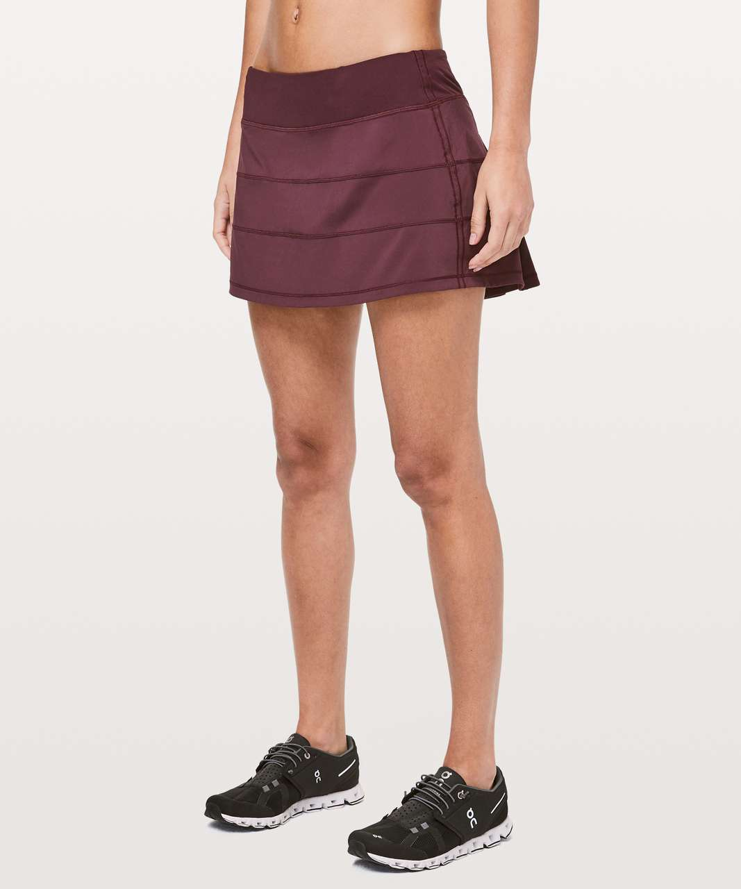 "Lululemon Pace Rival Skirt (Regular) *4-way Stretch 13"" - Dark Adobe"