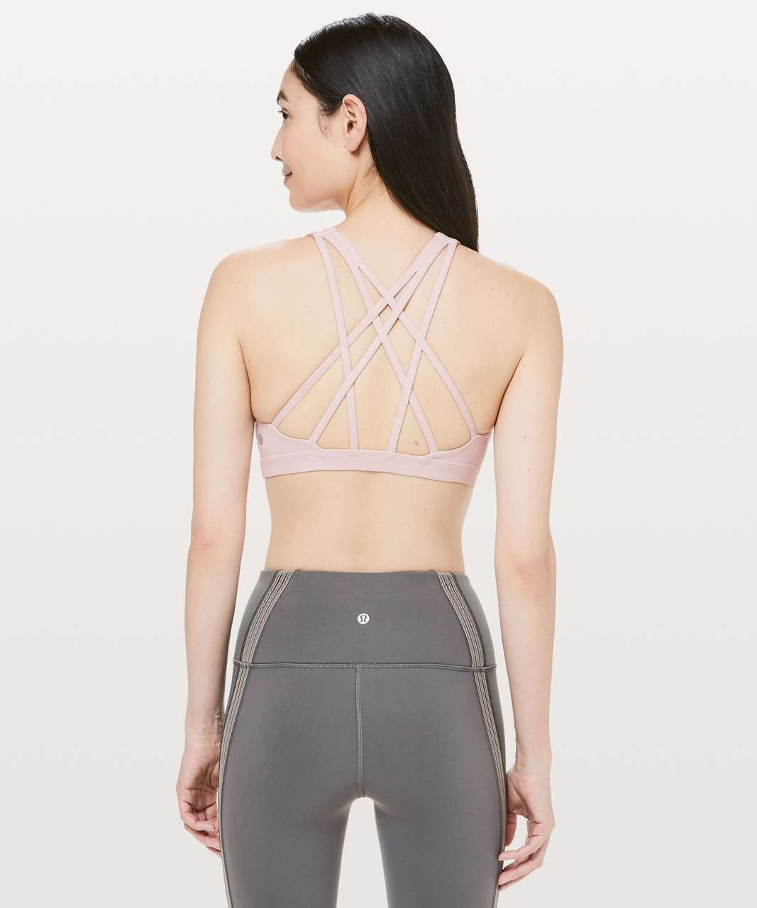 Lululemon Free To Be Serene Bra *High Neck - Pink Bliss