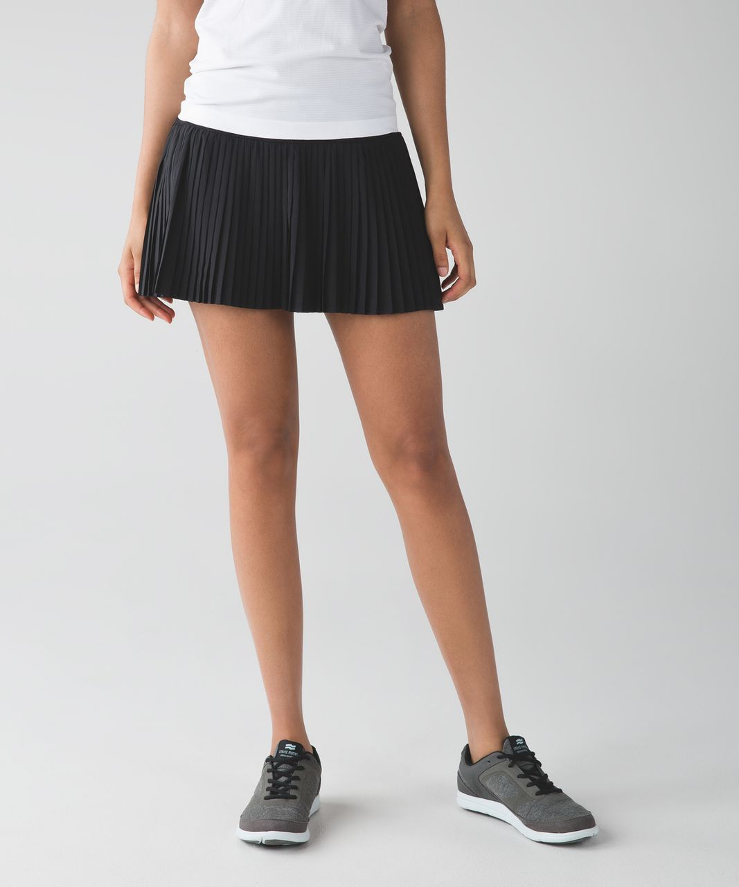 17d8b9cf3f Lululemon Pleat To Street Skirt II - Black - lulu fanatics