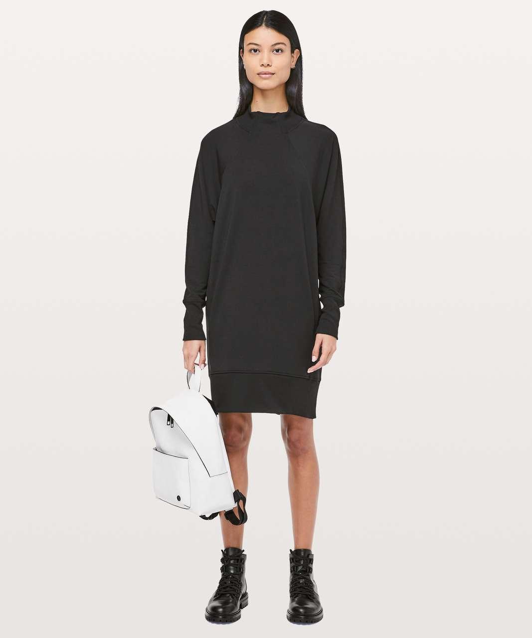Lululemon Cozy Instincts Dress - Black
