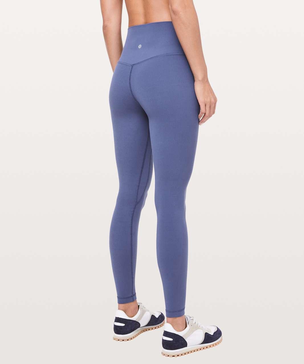 """Lululemon Align Pant *Full Length 28"""" - Gatsby Blue"""