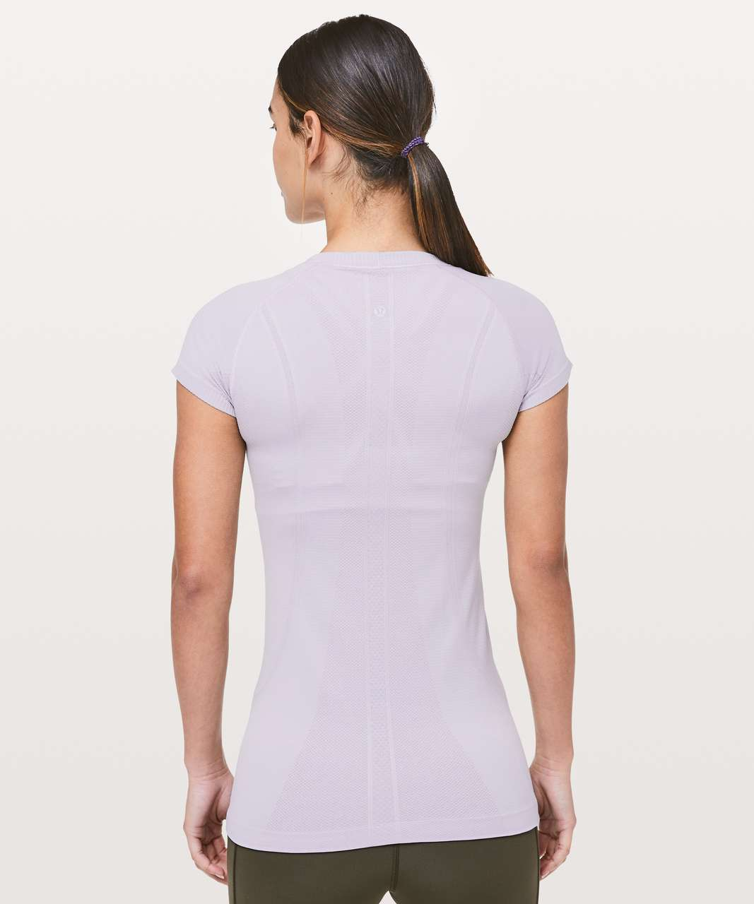 Lululemon Swiftly Tech Short Sleeve Crew - Silver Lilac / Silver Lilac