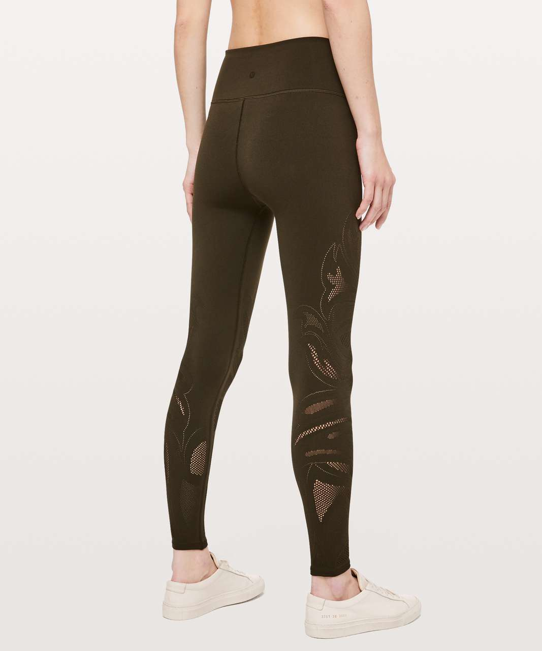 "Lululemon Reveal Tight *En Avante 26"" - Dark Olive"