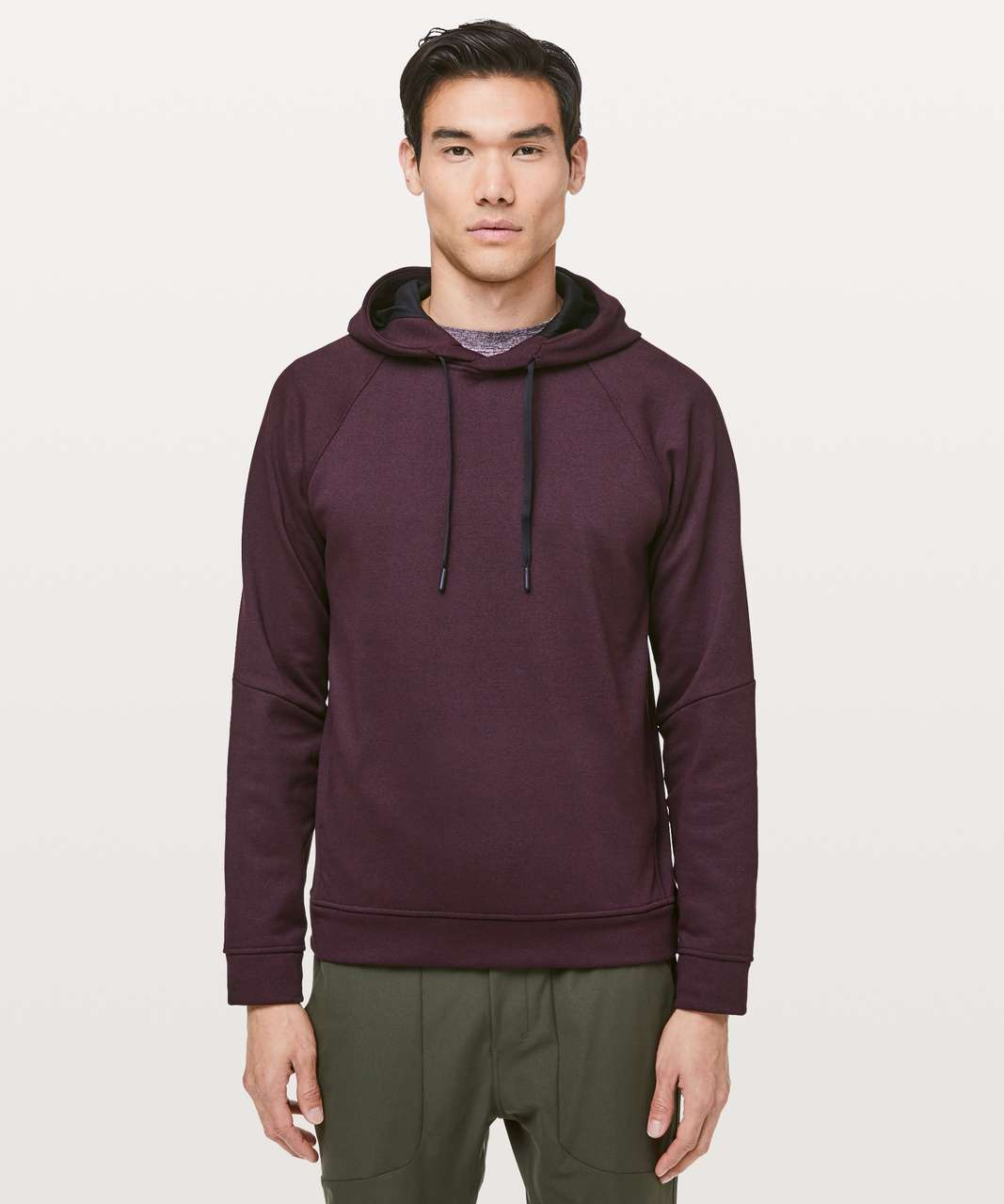 Lululemon City Sweat Pullover Hoodie *Thermo - Heathered Dark Adobe