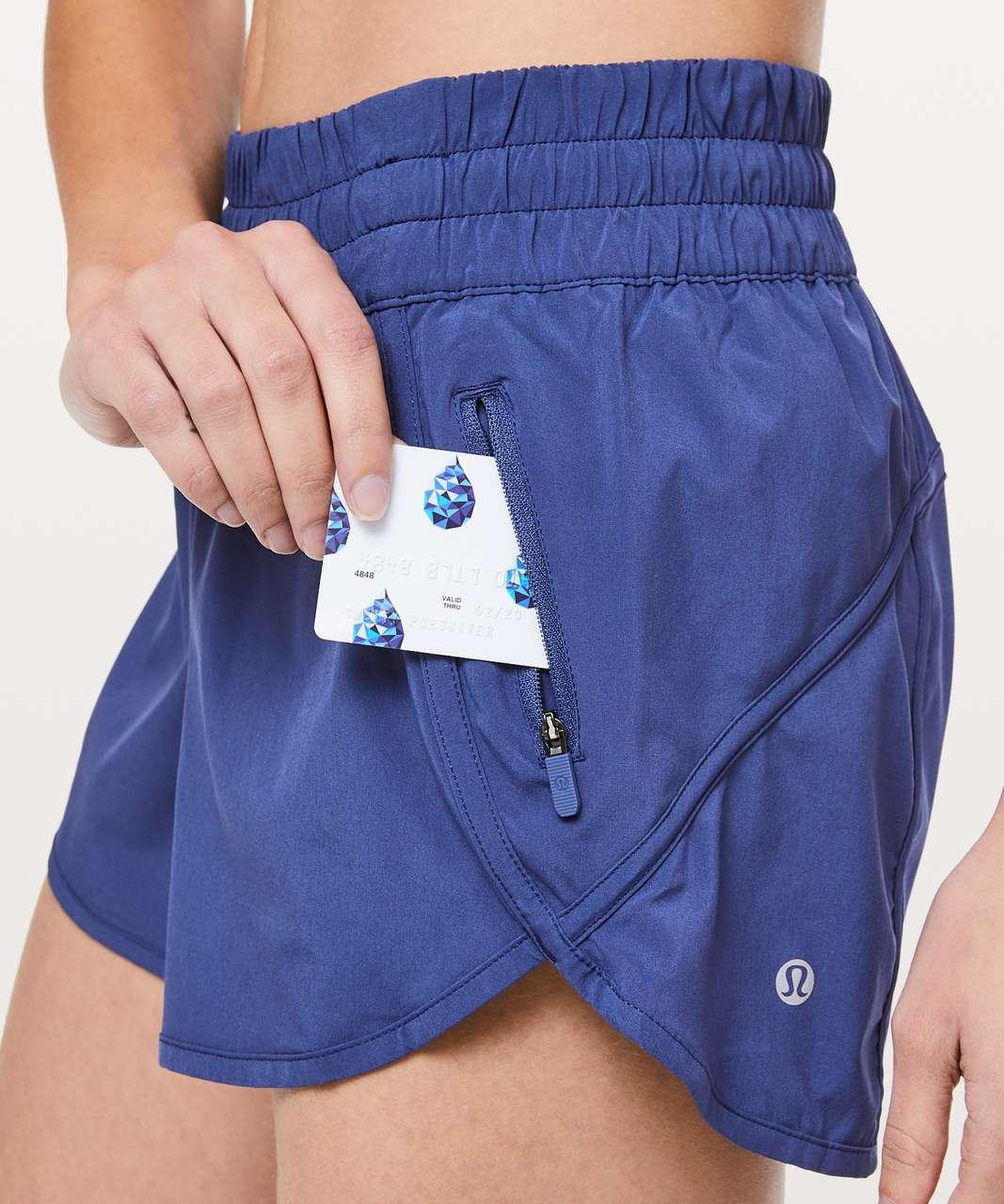 "Lululemon Tracker Short V *4"" - Gatsby Blue"