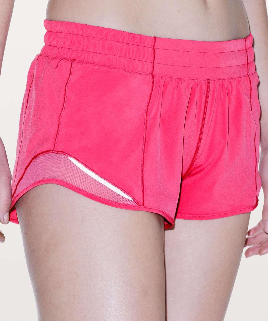 """Lululemon Hotty Hot Short II *2.5"""" - Sonic Pink"""