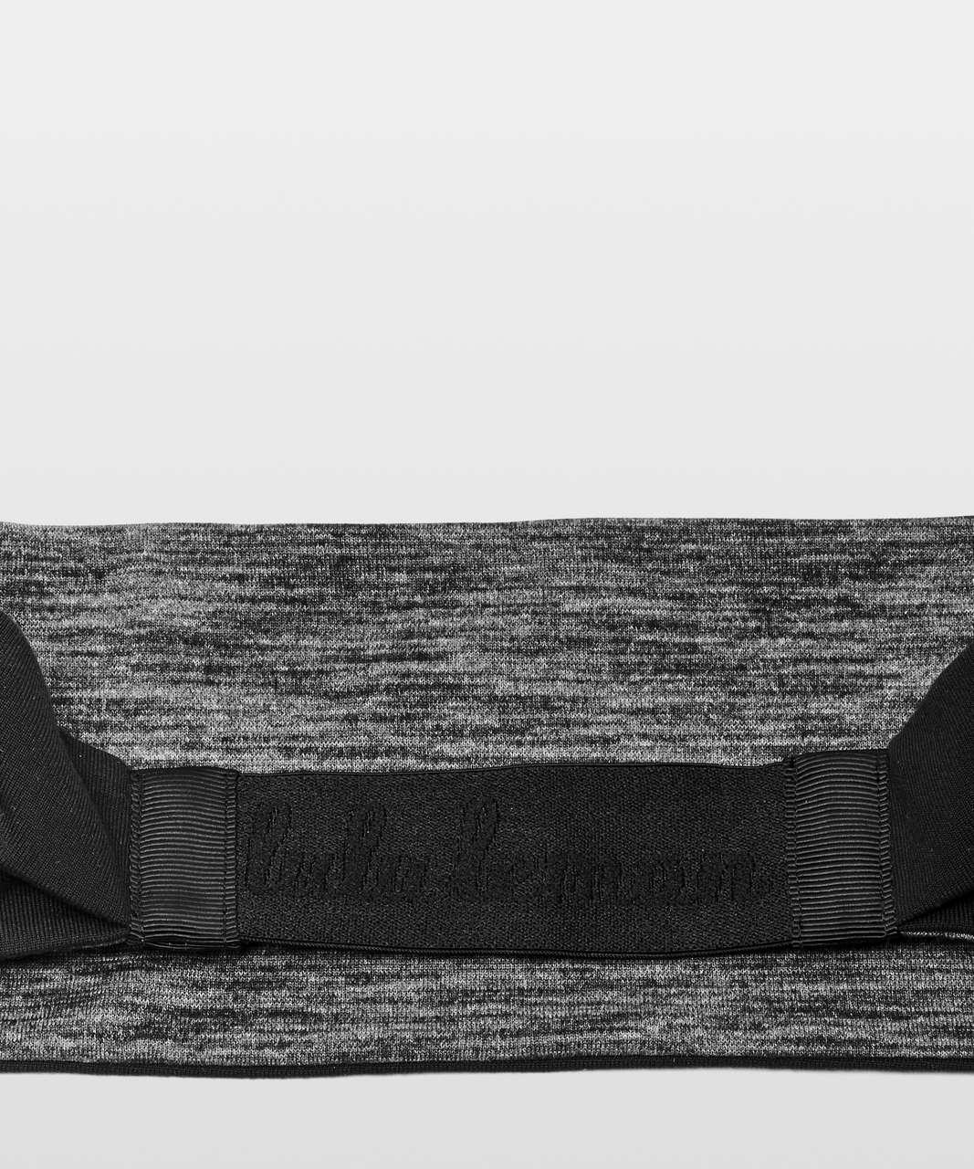 Lululemon Fringe Fighter Headband - Black / Heathered Black (Second Release)