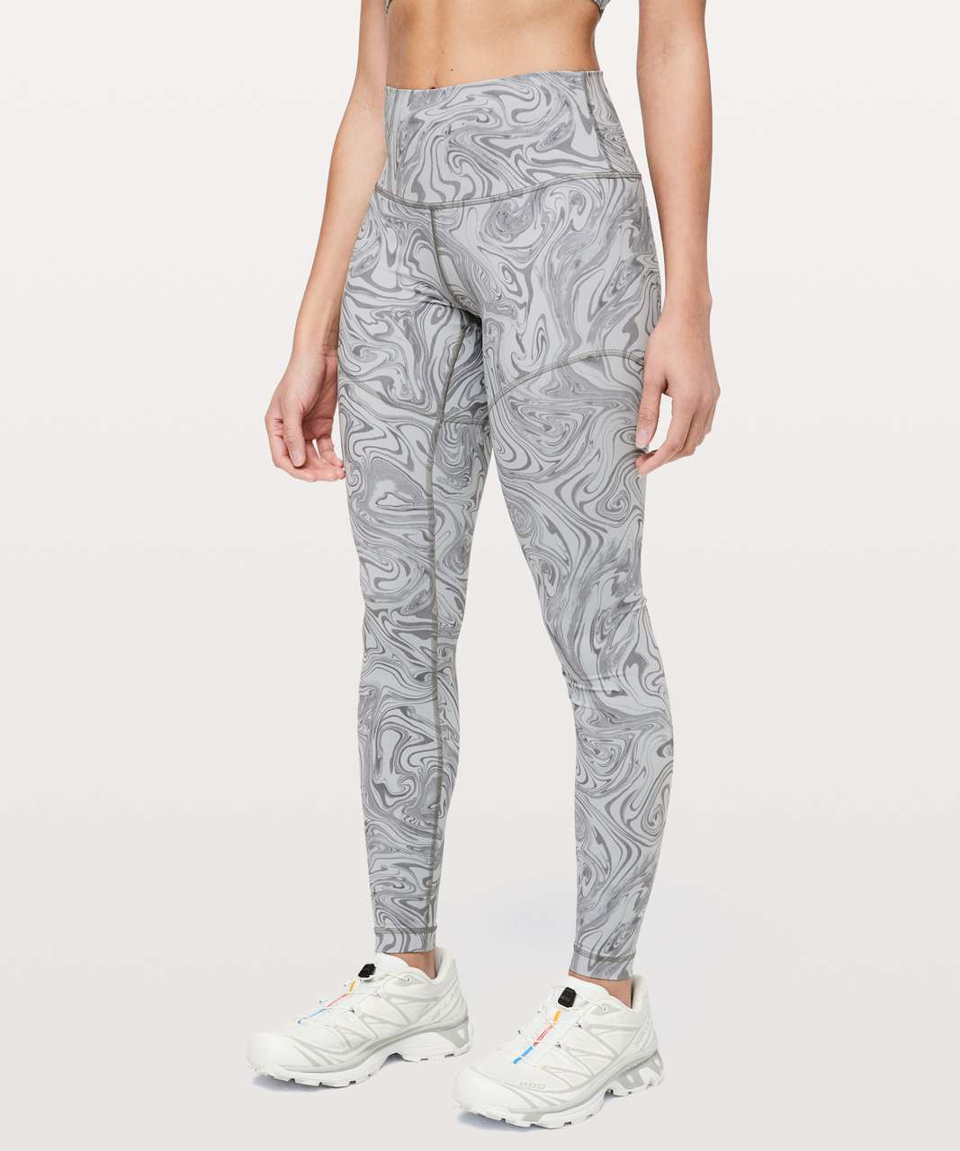 Lululemon Wunder Under High-Rise Tight Suminagashi *lululemon lab - Ice Grey