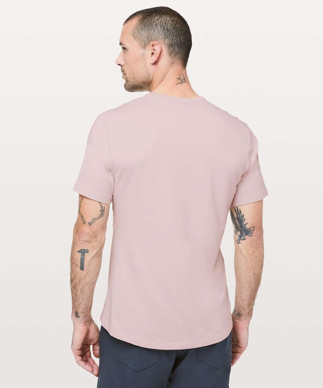 Lululemon 5 Year Basic Tee *Updated Fit - Misty Pink