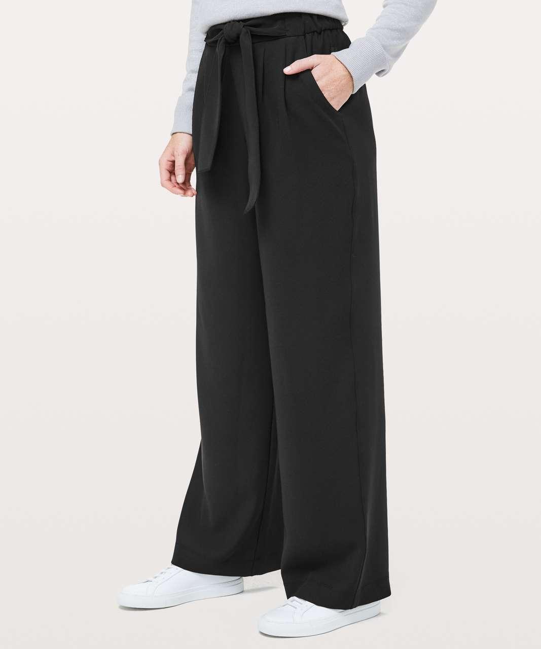 fa71101b2174f Lululemon Noir Pant *Woven - Black - lulu fanatics
