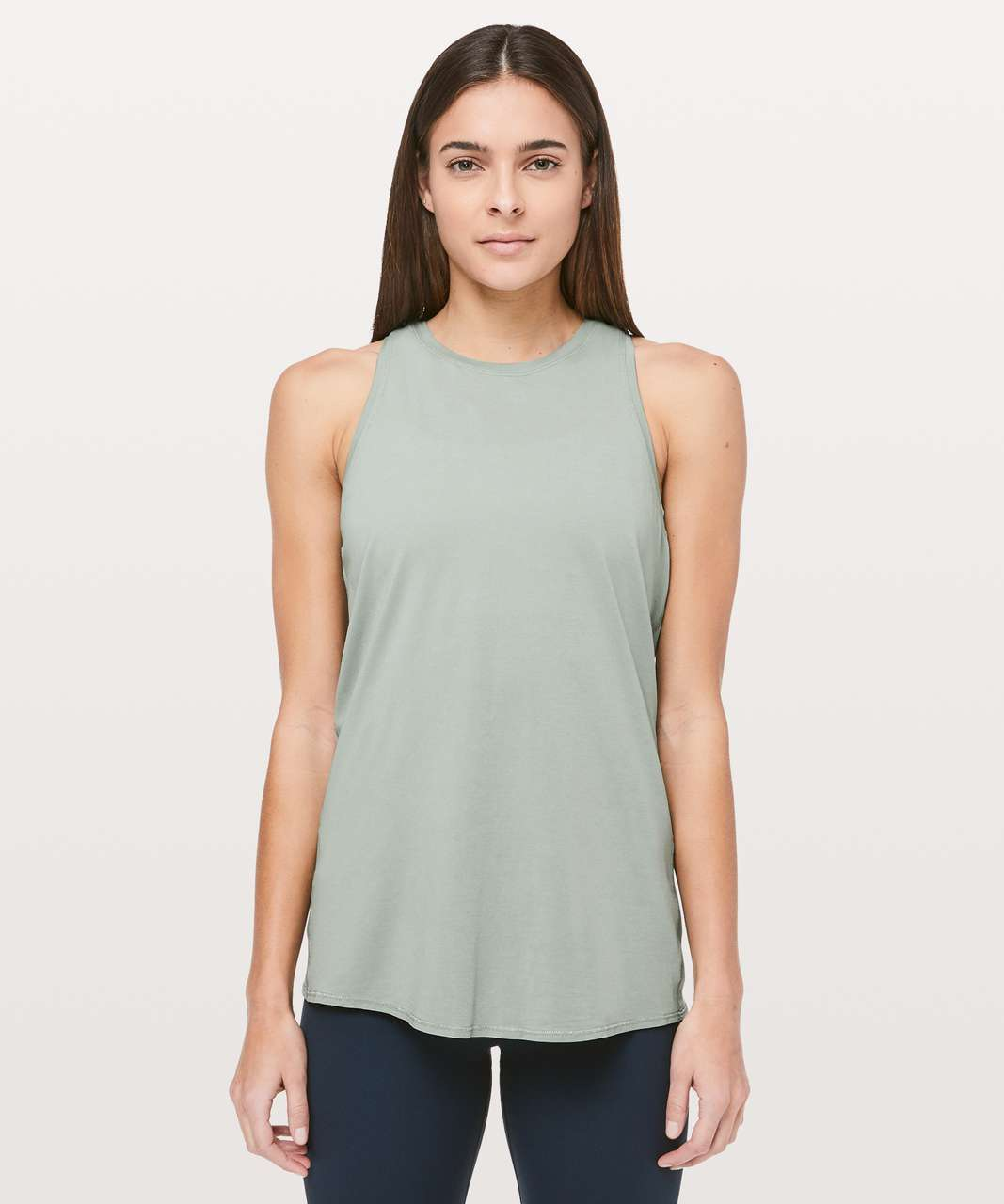 Lululemon All Tied Up Tank - Palm Court