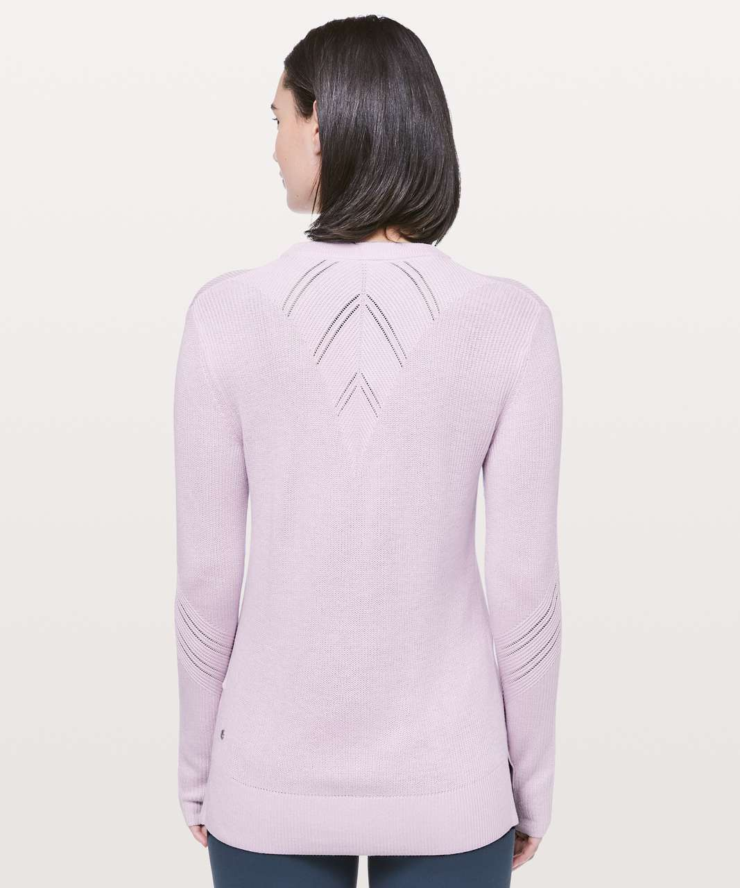 Lululemon Time To Restore Sweater - Sheer Lilac