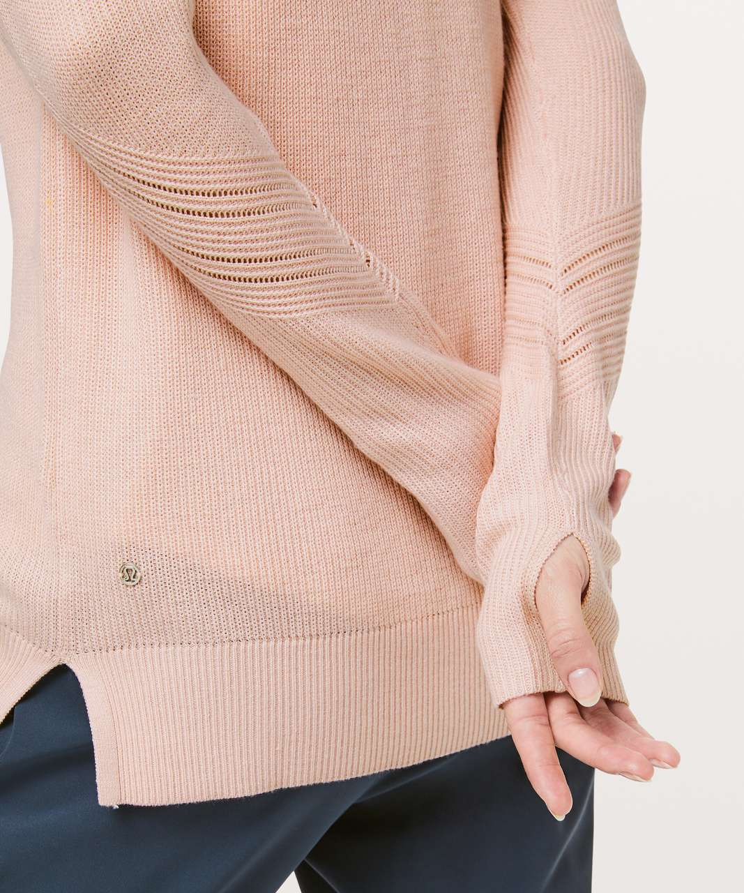 Lululemon Time To Restore Sweater - Misty Pink
