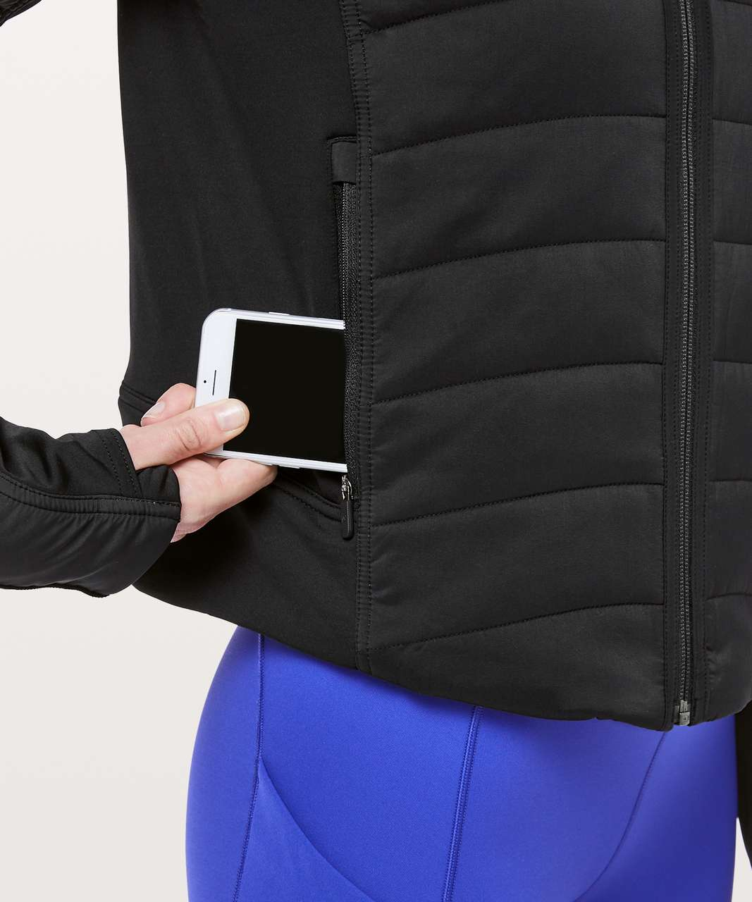 Lululemon Push Your Pace Jacket - Black
