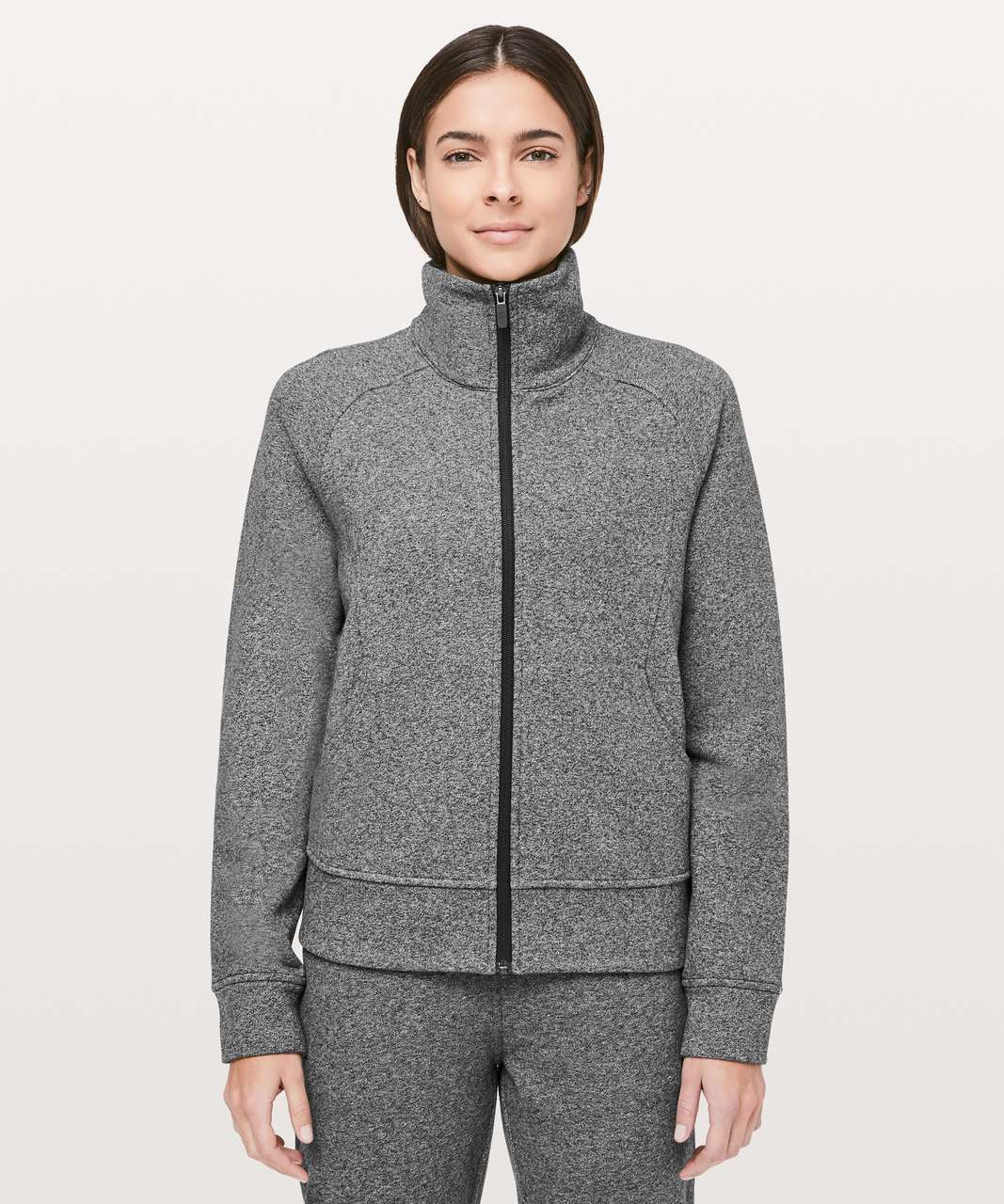 Lululemon Pleat Perfection Jacket - Heathered Speckled Black