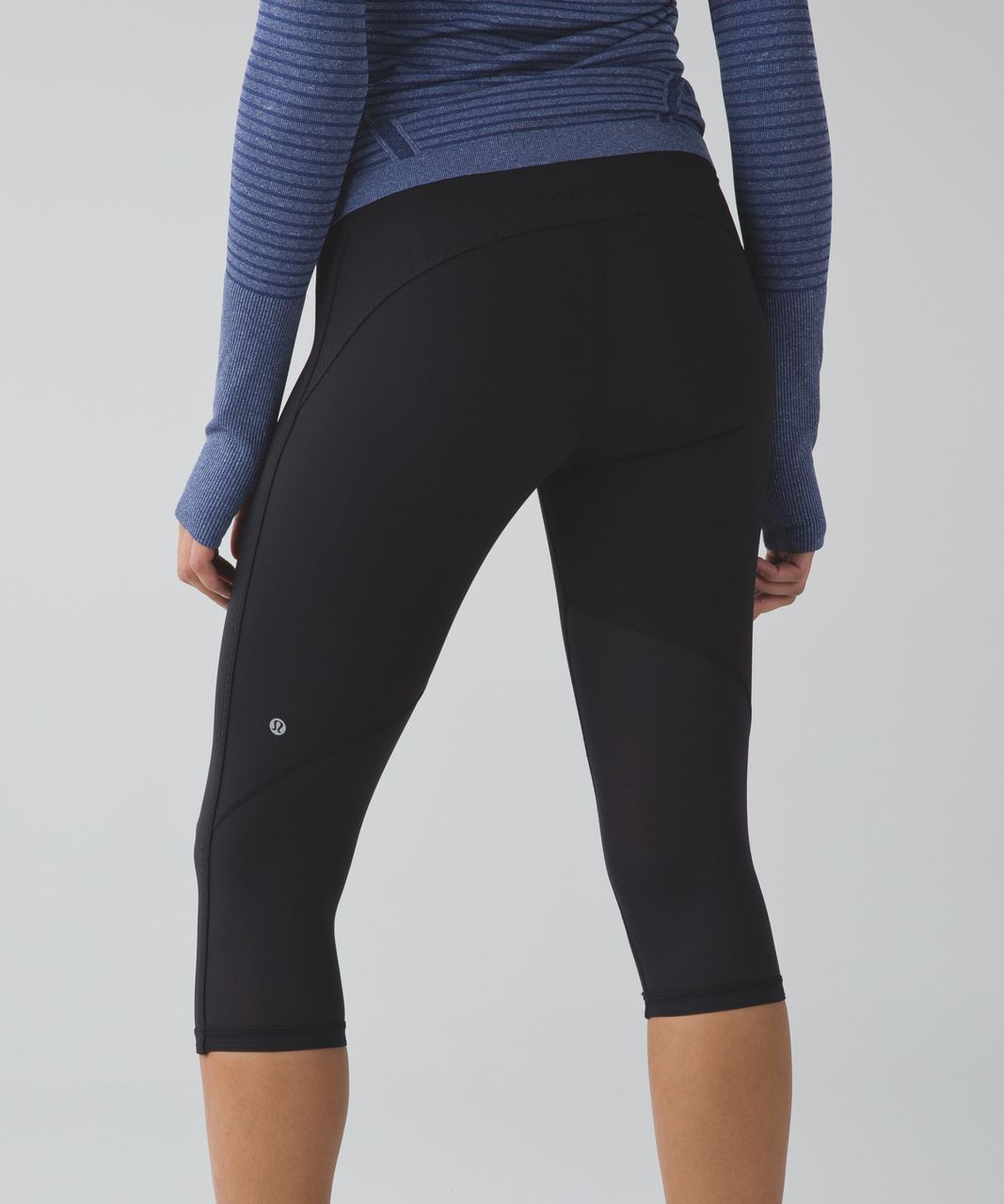 Lululemon Real Quick Crop - Black