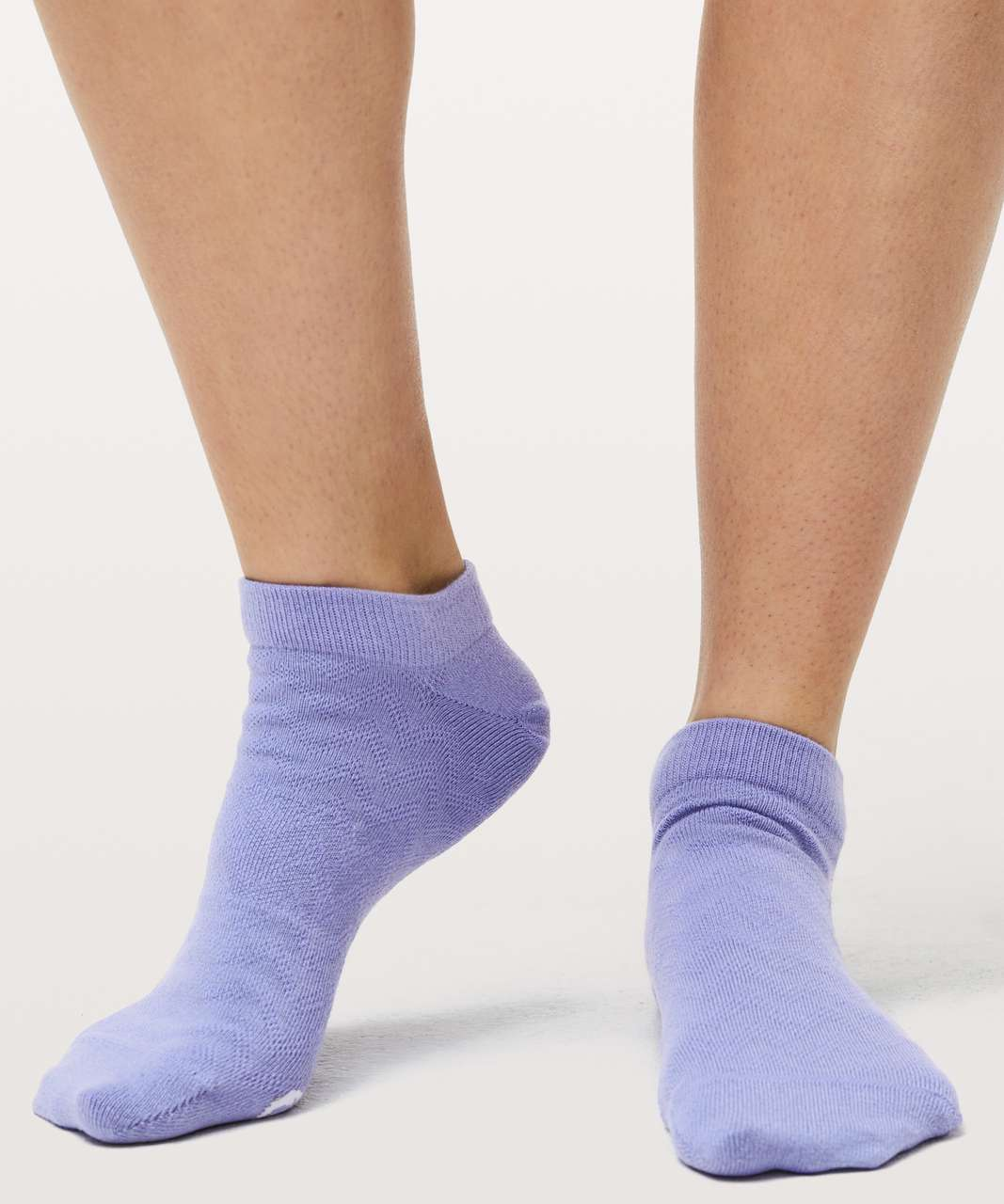 Lululemon On The Fly Sock *3-Pack - Purple Blossom / Solar Purple / Cyber