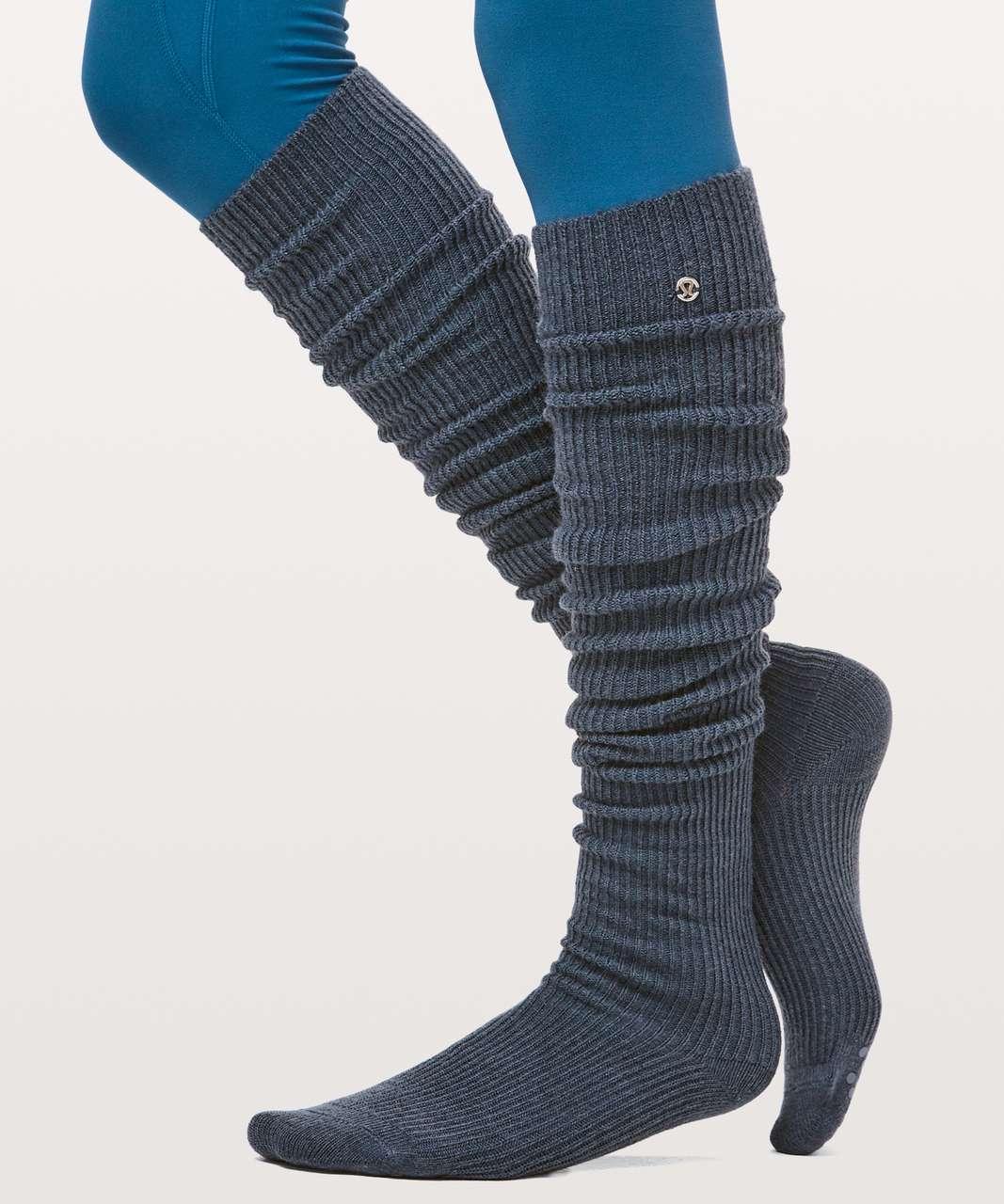Lululemon Savasana Sock - Stone Blue