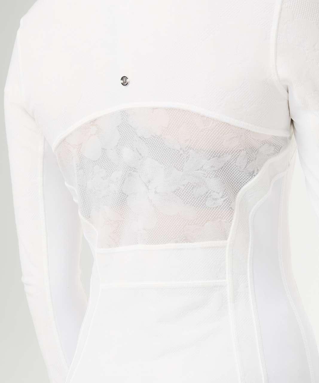 Lululemon Define Jacket Flocked - White