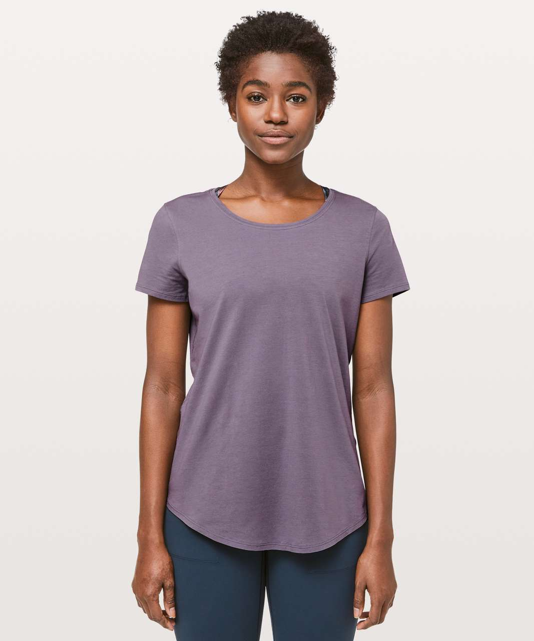 Lululemon Love Crew III - Graphite Purple