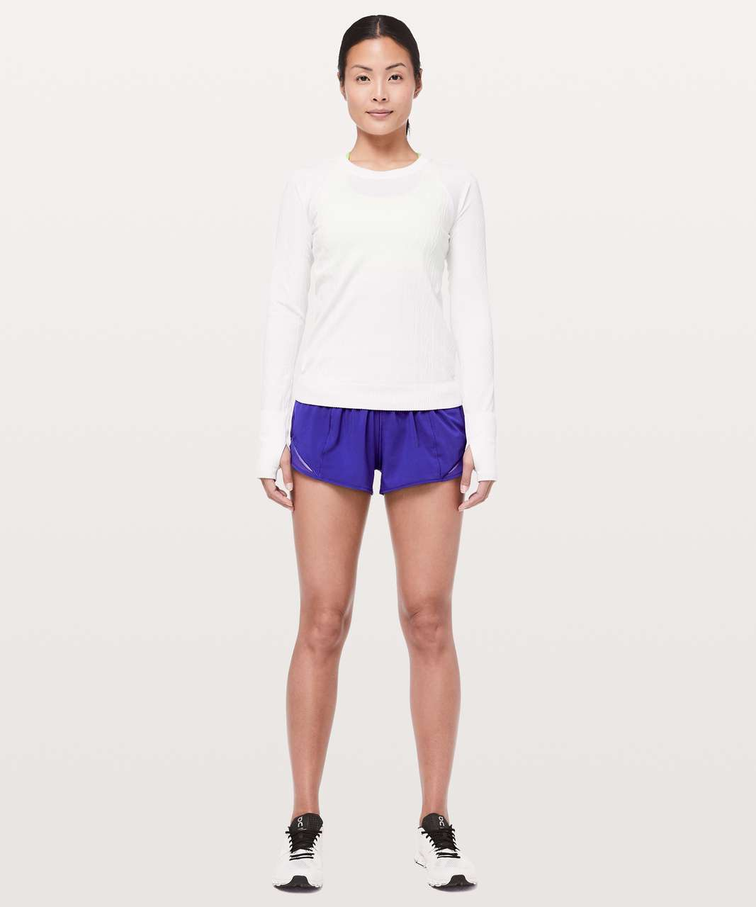 "Lululemon Hotty Hot Short II *2.5"" - Lazurite"
