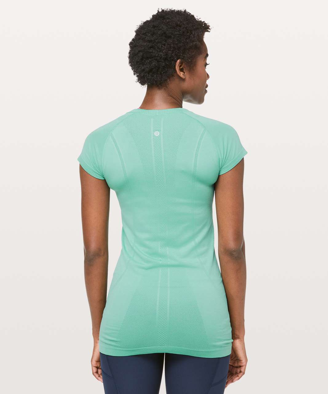 Lululemon Swiftly Tech Short Sleeve Crew - Aqua Mint / Aqua Mint
