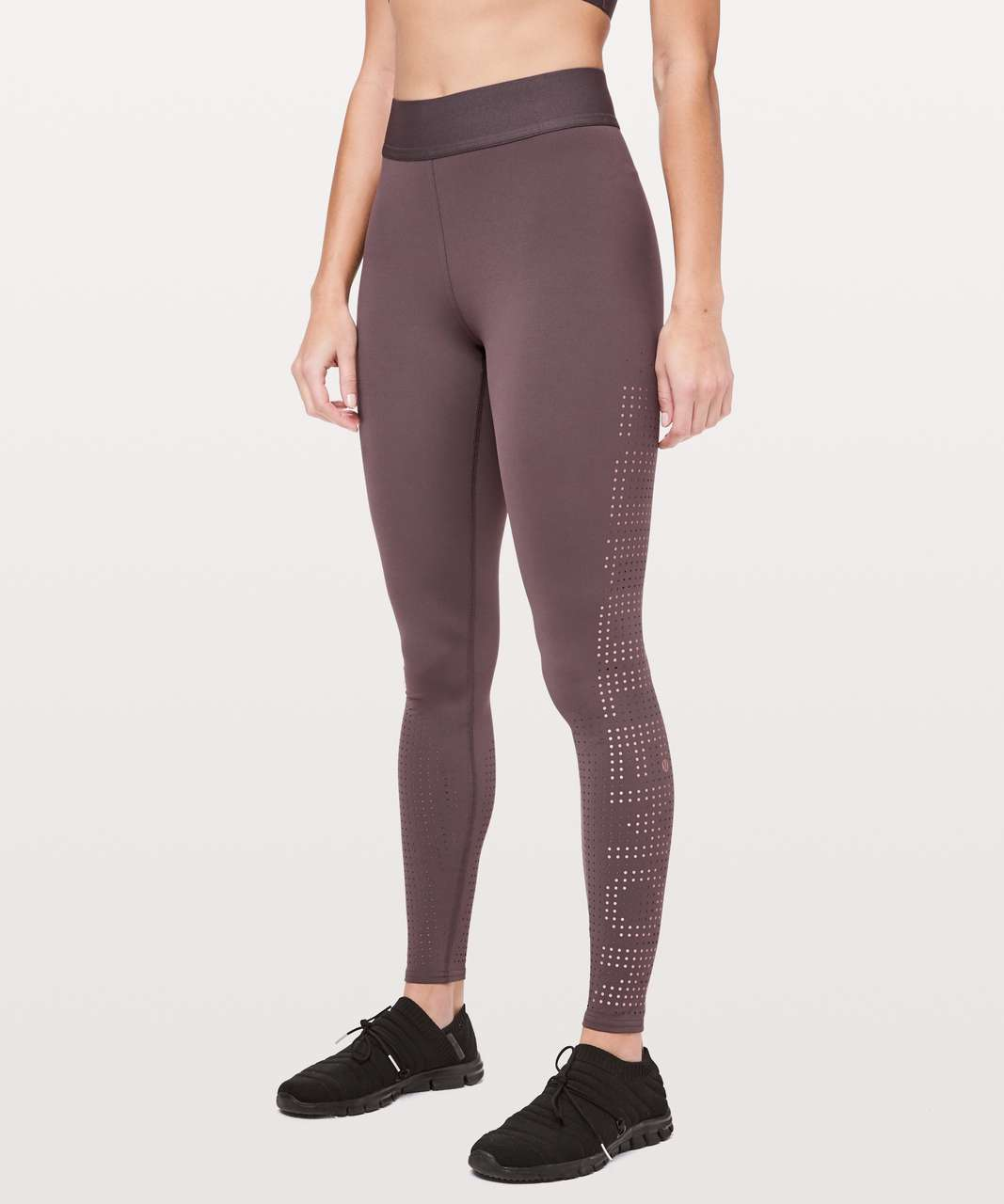 "Lululemon Ride & Reflect Tight 28"" *lululemon X SoulCycle - Purple Taupe"